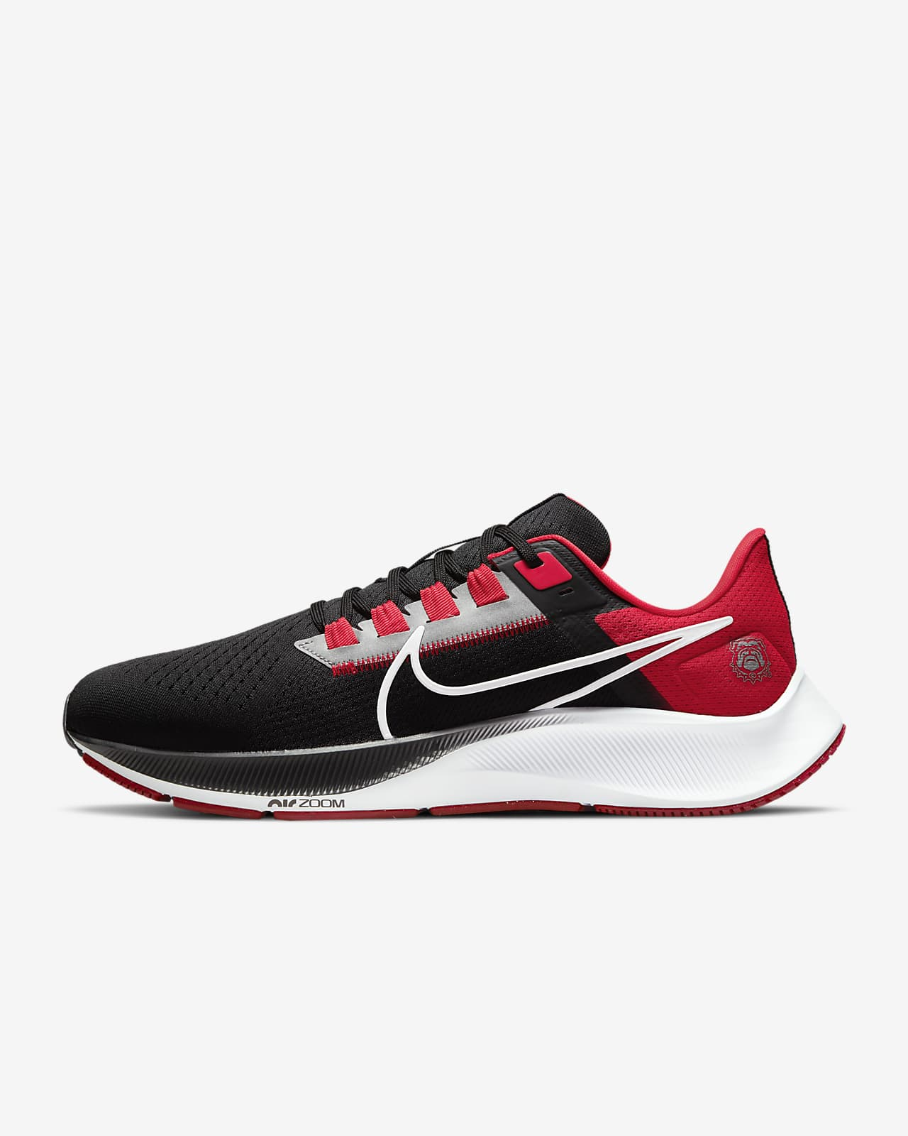 Nike College Air Zoom Pegasus 38 (Georgia) Running Shoe