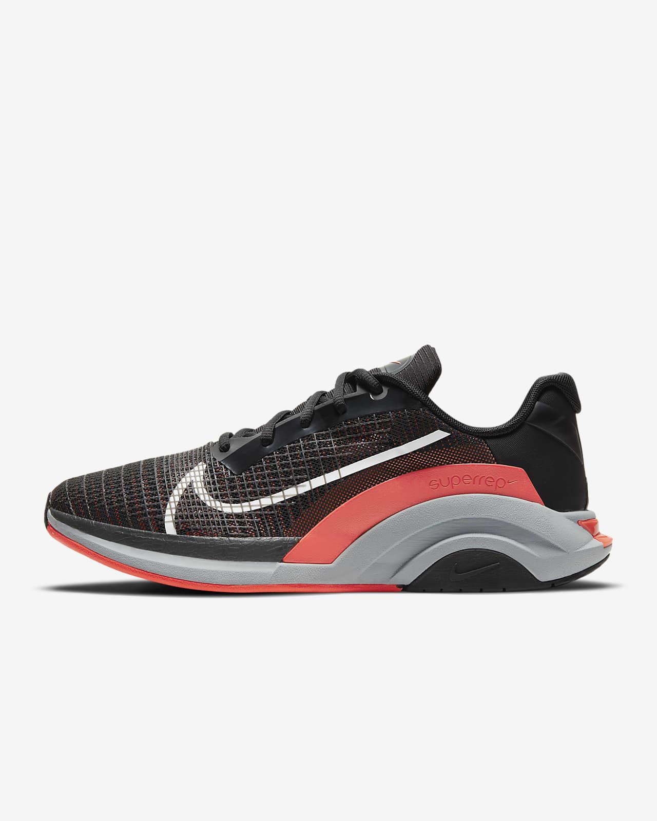 รองเท้าผู้ชายสำหรับคลาสฝึกความอดทน Nike ZoomX SuperRep Surge