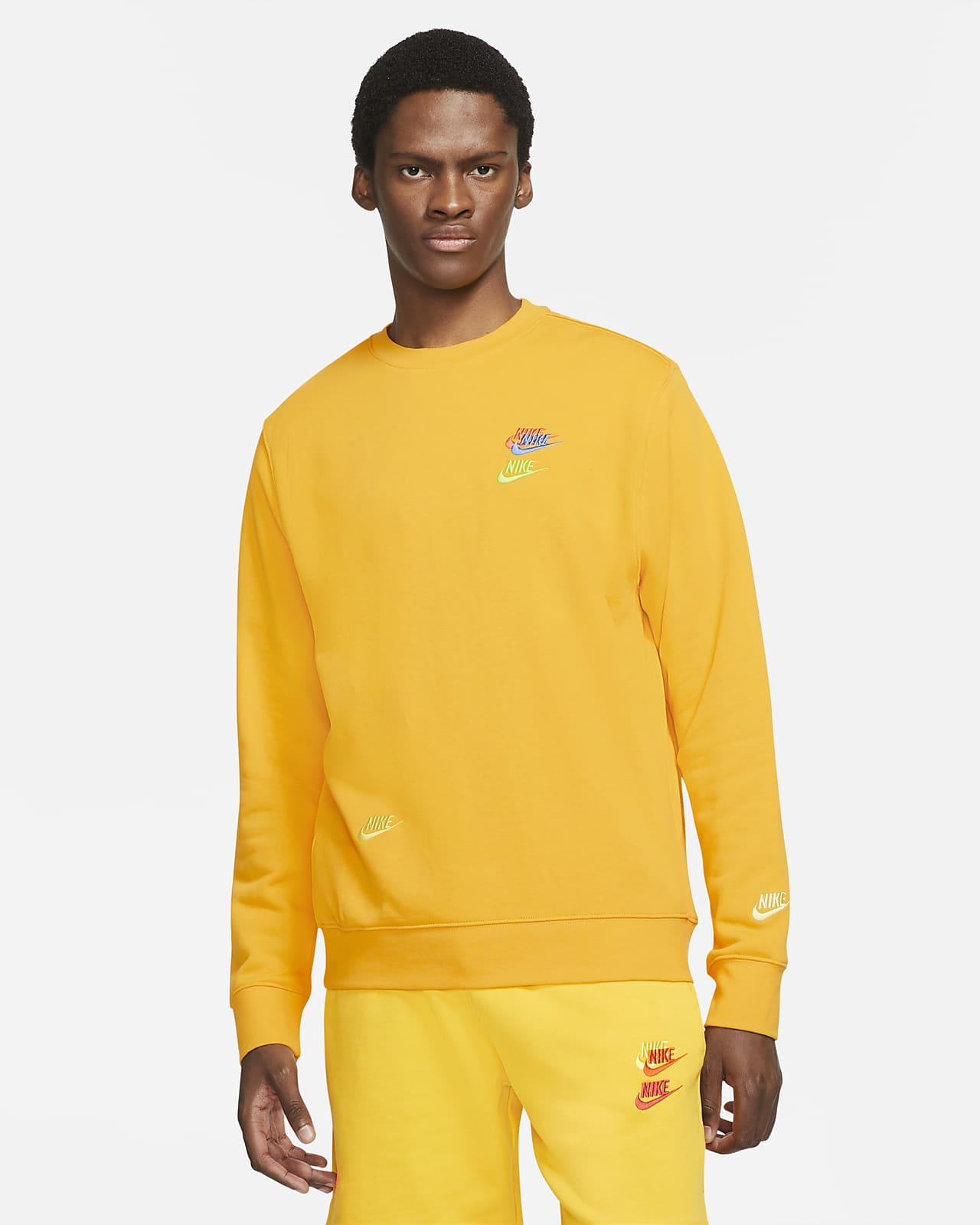Camisola em tecido moletão Nike Sportswear Essentials+ para homem
