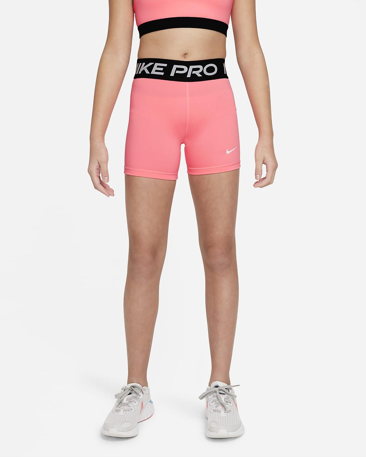 Шорты для девочек школьного возраста Nike Pro