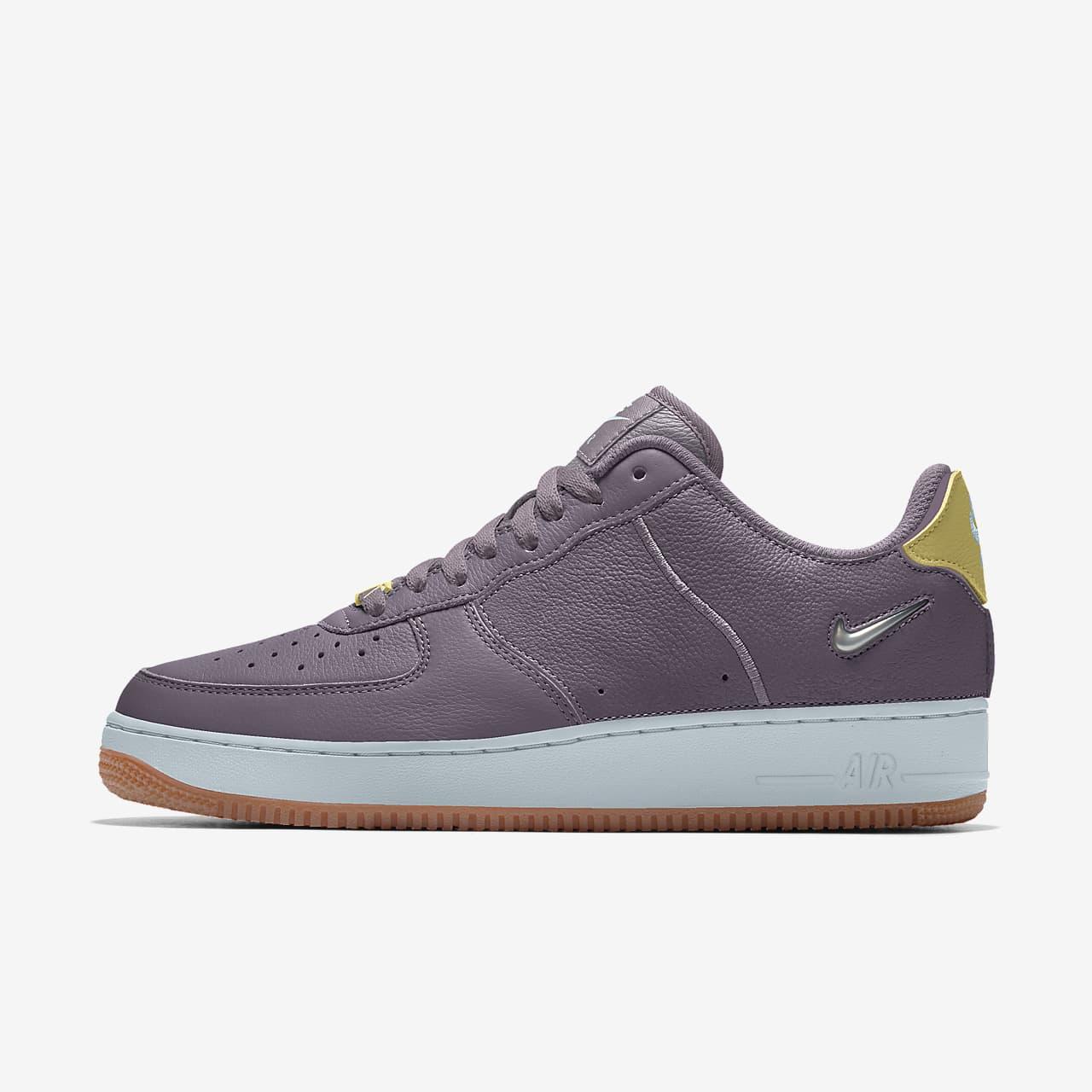 Кроссовки с индивидуальным дизайном Nike Air Force 1/1 Unlocked By You