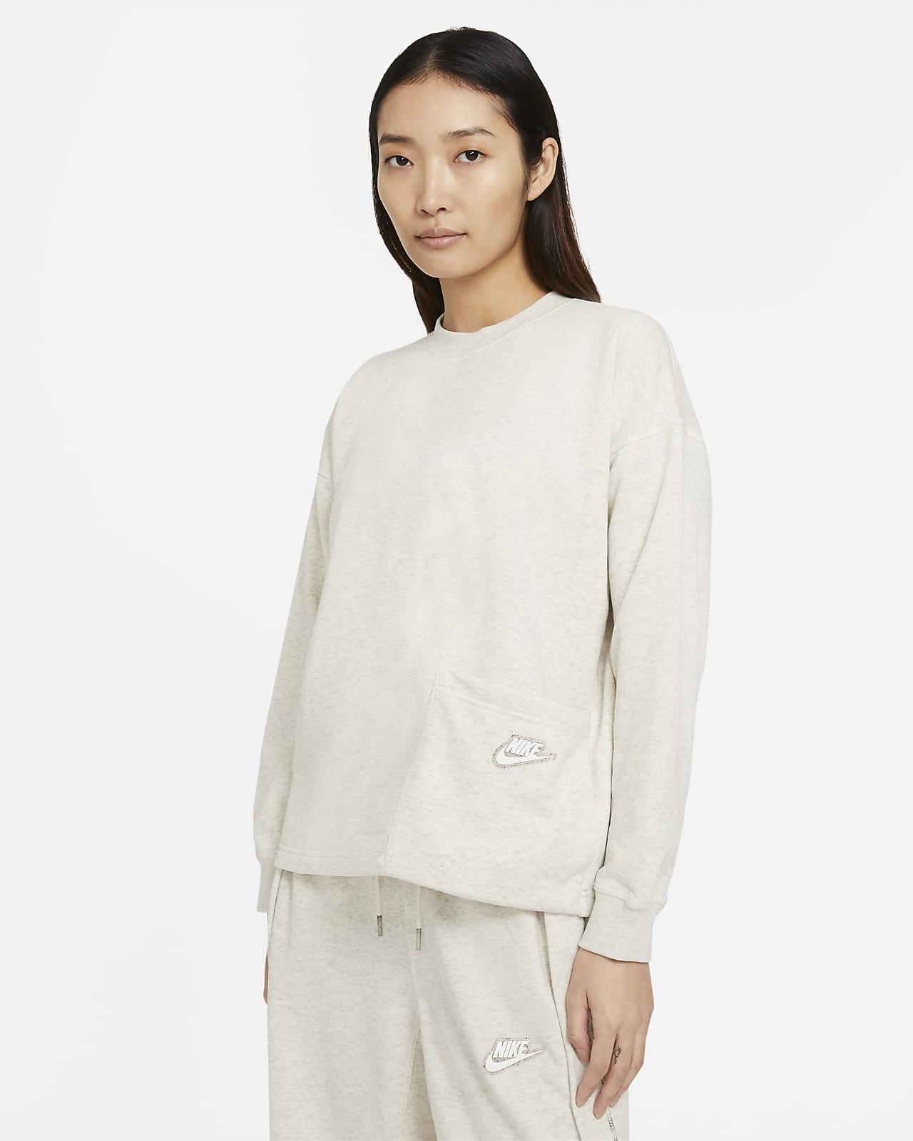 Nike Sportswear 女款圓領上衣