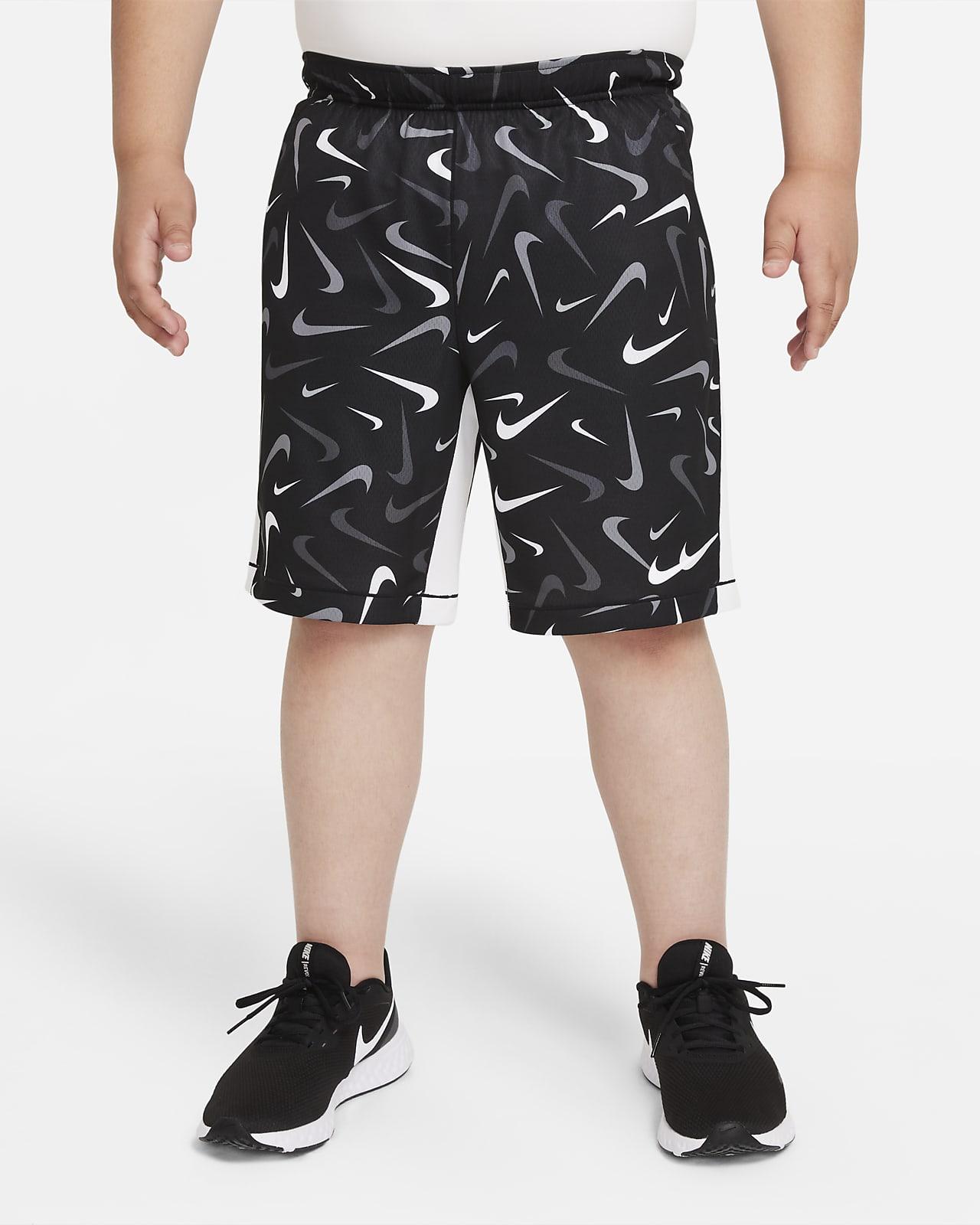 Short de training Nike Dri-FIT pour Garçon plus âgé (taille étendue)
