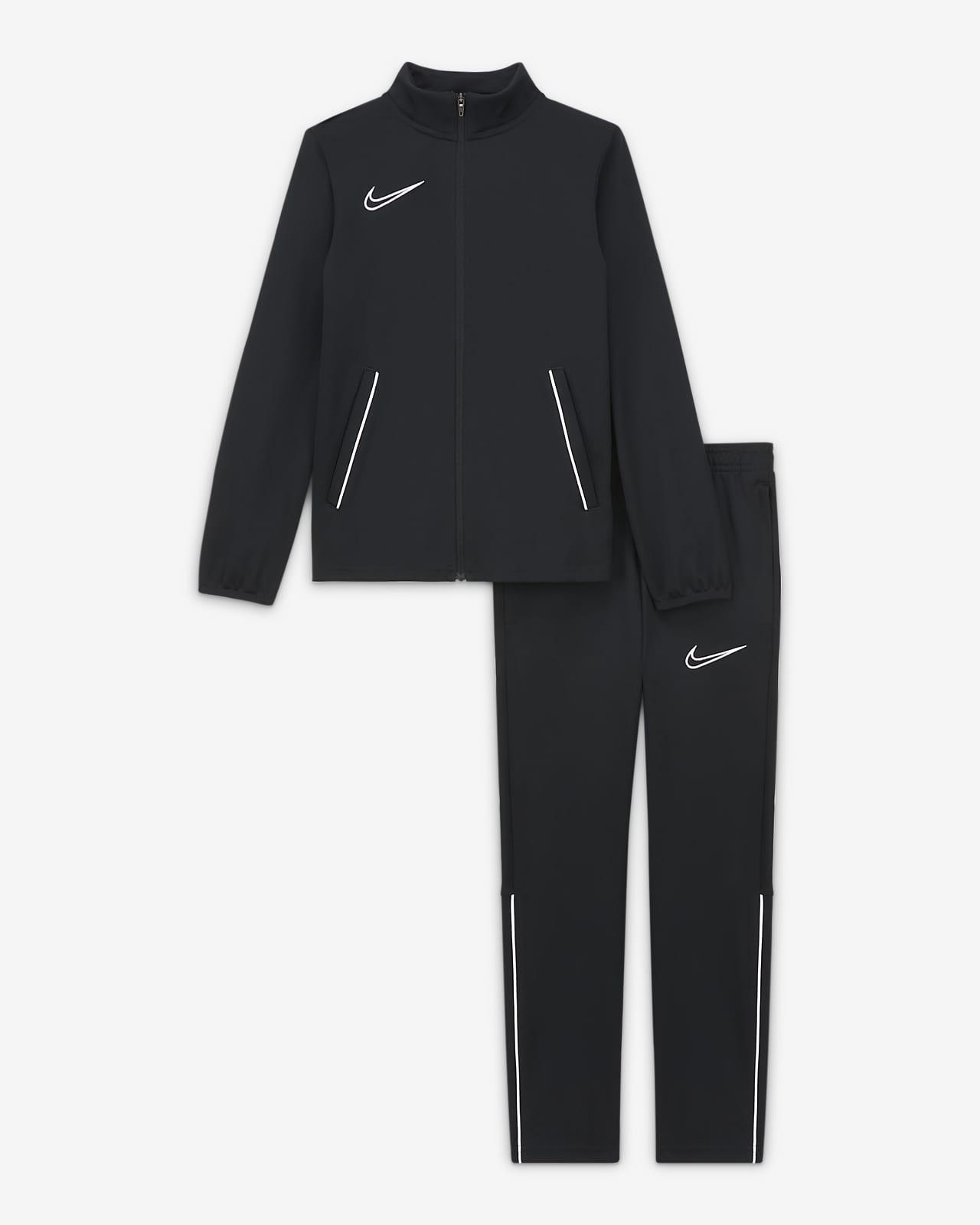 Nike Dri-FIT Academy Big Kids' Knit Soccer Tracksuit