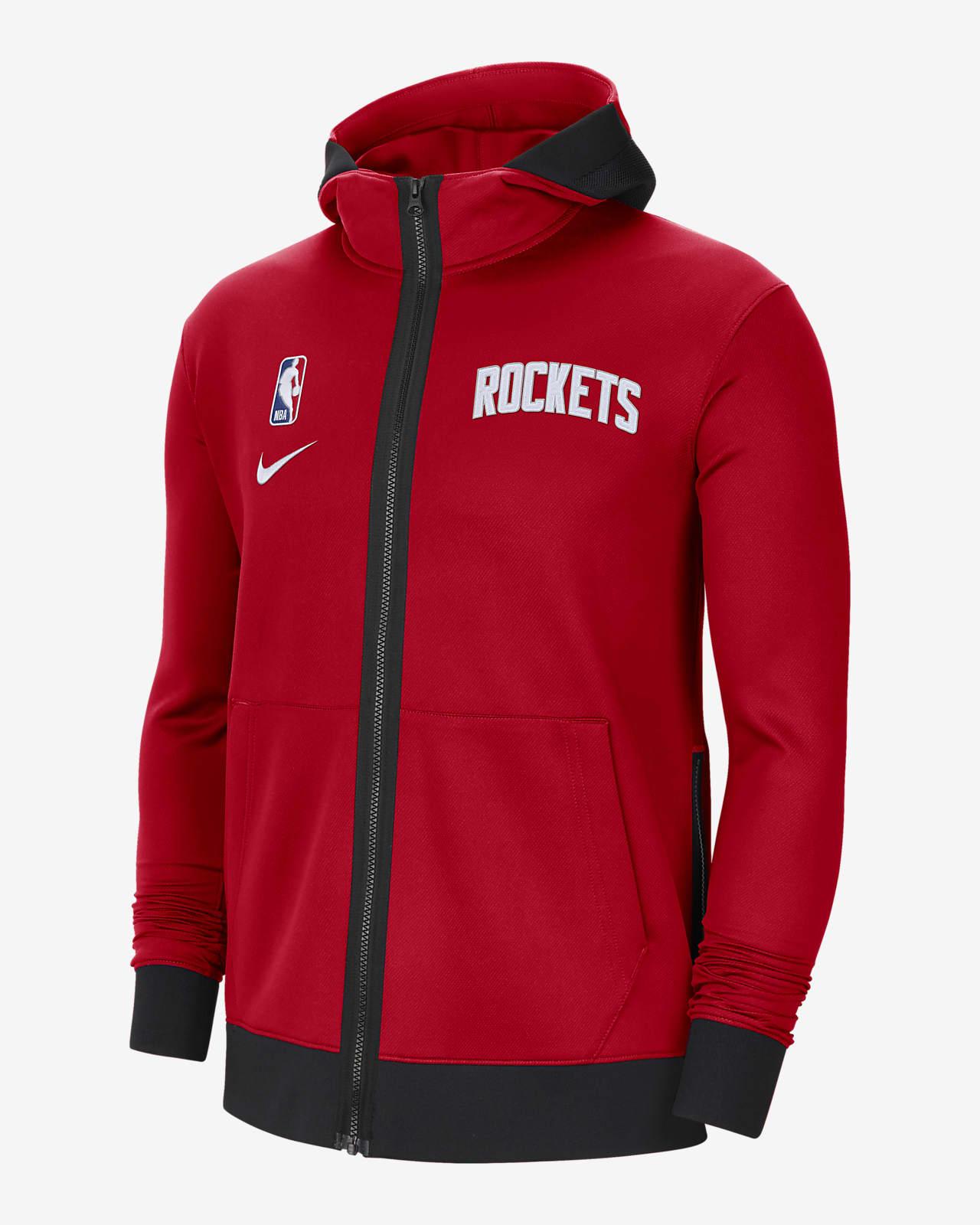 Hoodie NBA Nike Therma Flex Houston Rockets Showtime para homem