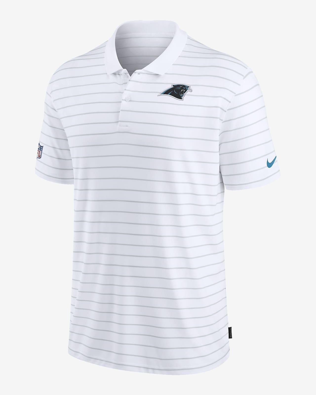 Nike Dri-FIT Sideline Victory Coaches (NFL Carolina Panthers) Men's Polo
