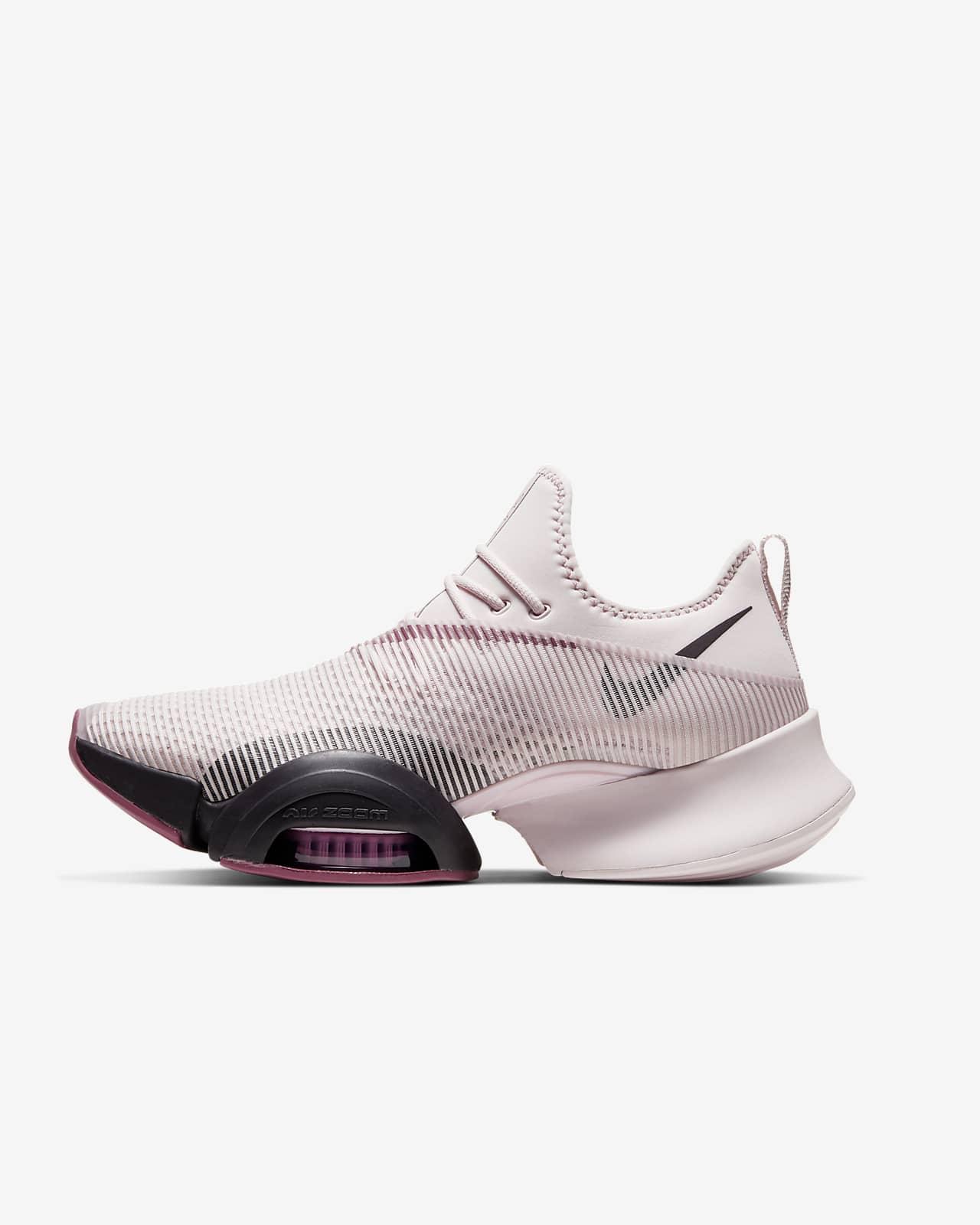 รองเท้าผู้หญิงสำหรับคลาส HIIT Nike Air Zoom SuperRep