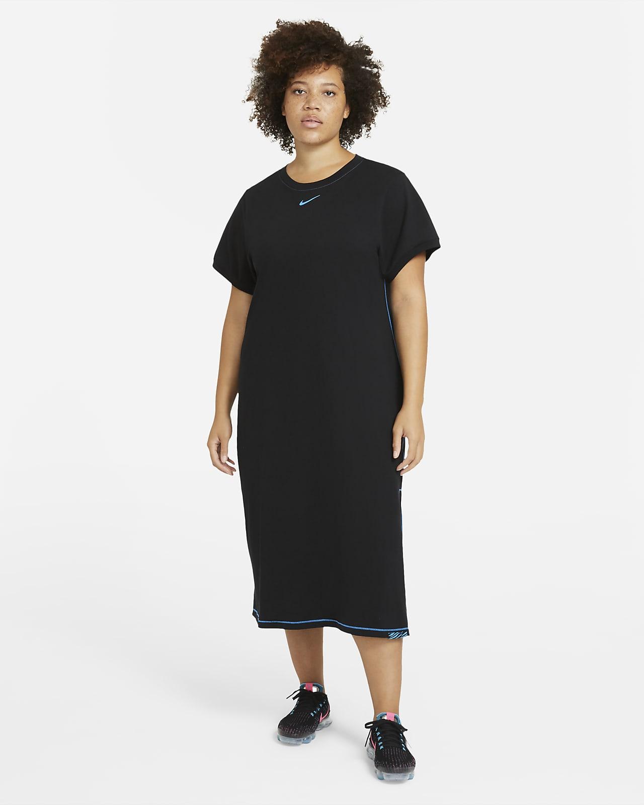 Maxi Vestido para mujer talla grande Nike Sportswear Icon Clash