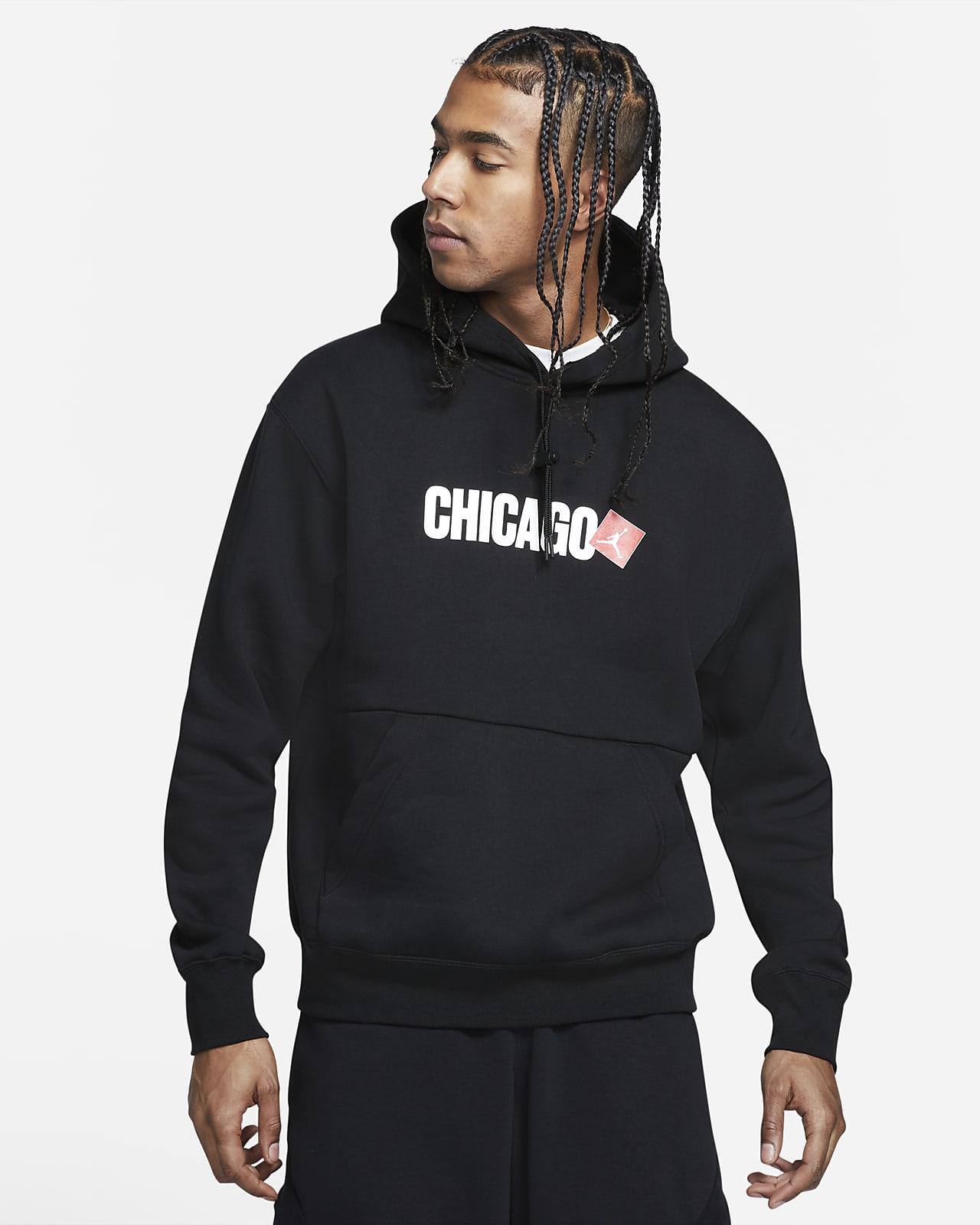 Sudadera con capucha sin cierre para hombre Jordan Chicago