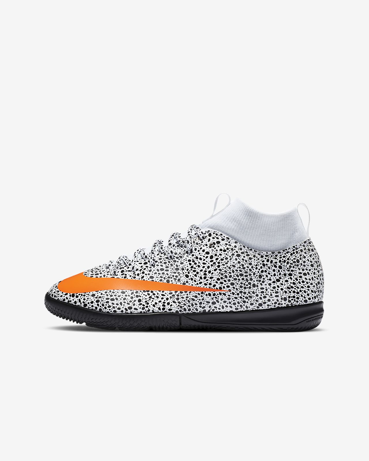 Nike Jr. Mercurial Superfly 7 Academy CR7 Safari IC Younger/Older Kids' Indoor Court Football Shoe
