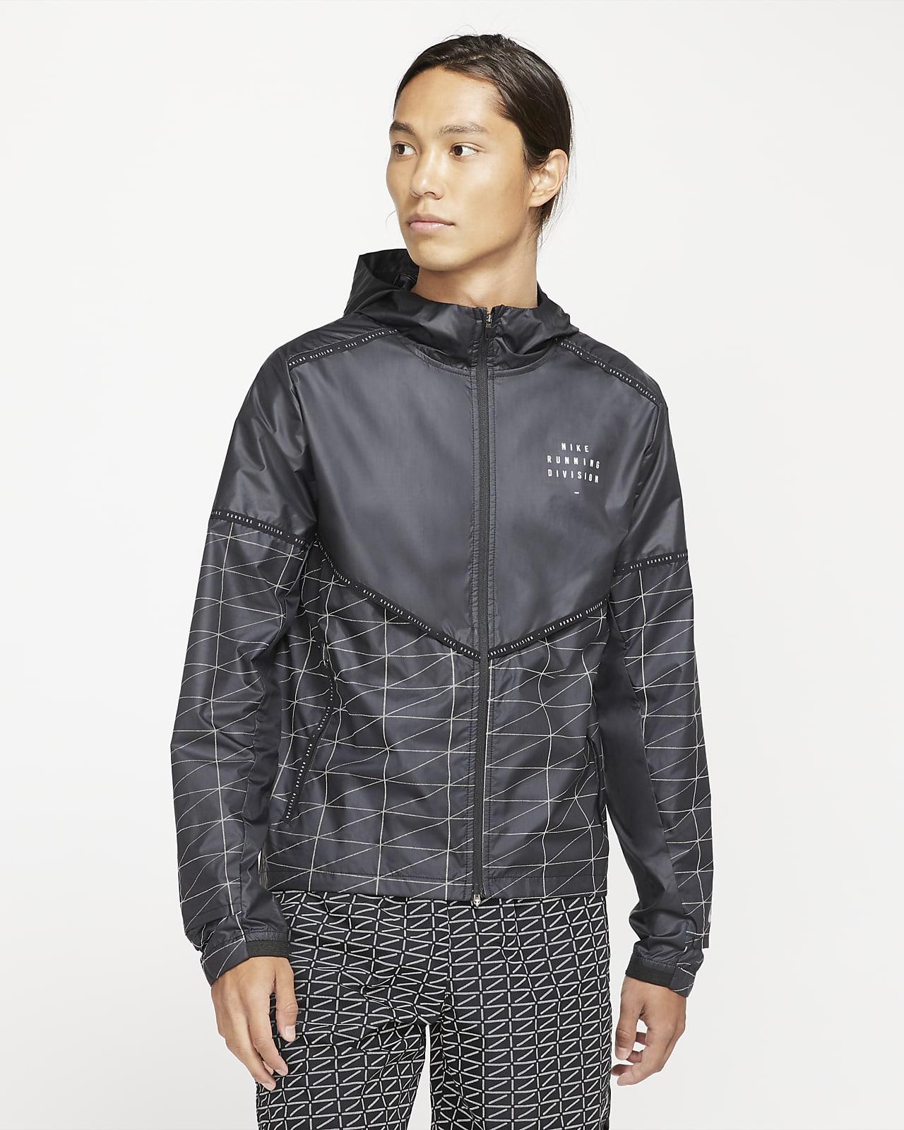 เสื้อแจ็คเก็ตวิ่งผู้ชาย Nike Flash Run Division