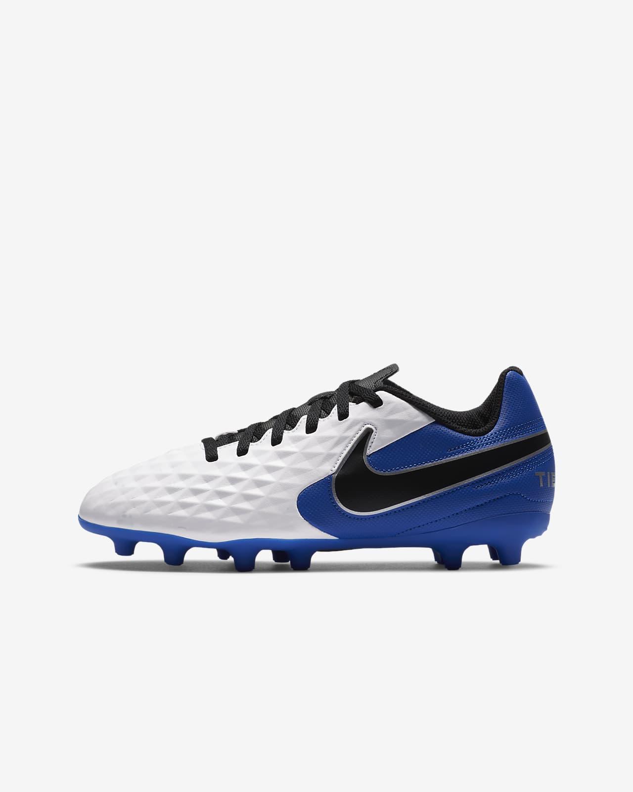 Calzado de fútbol para múltiples superficies para niños talla grande Nike Jr. Tiempo Legend 8 Club MG
