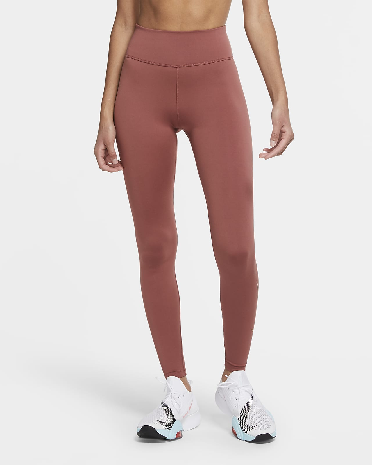 Leggings a vita media Nike One Icon Clash - Donna