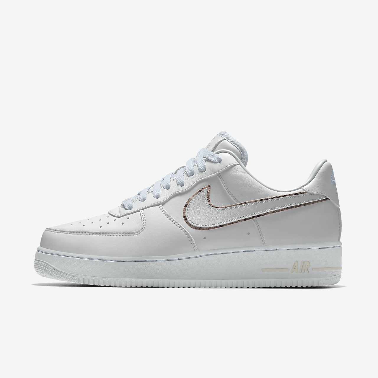 Nike Air Force 1 Low Unlocked By You Custom Women's Shoe