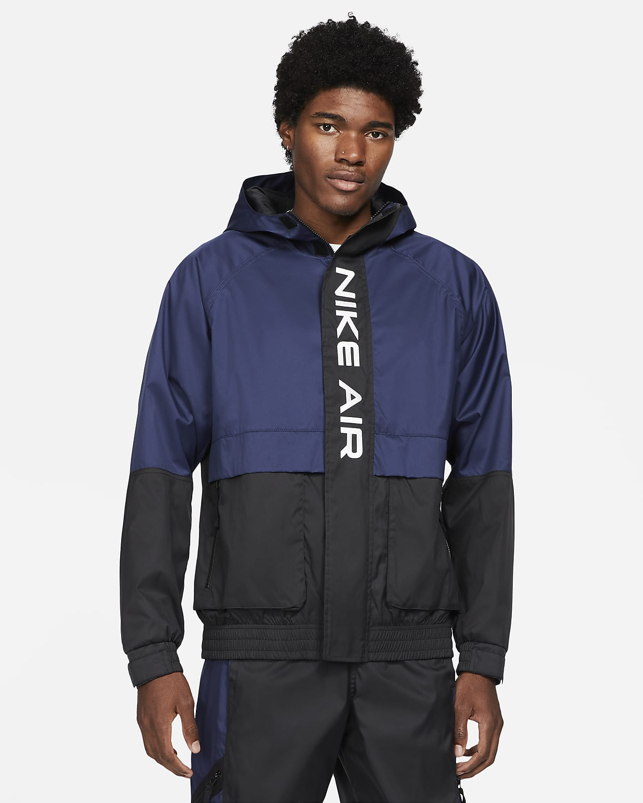 Nike Air-foret jakke med hætte til mænd