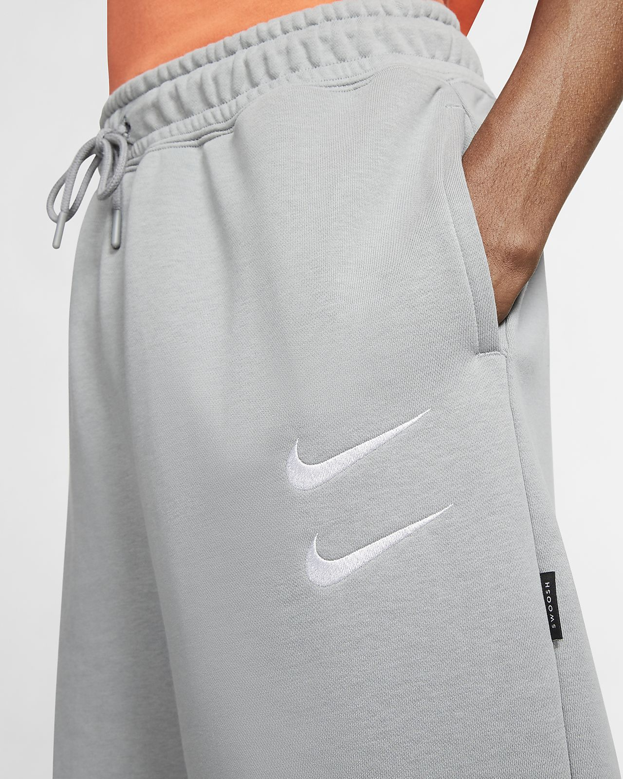 nike shorts swoosh