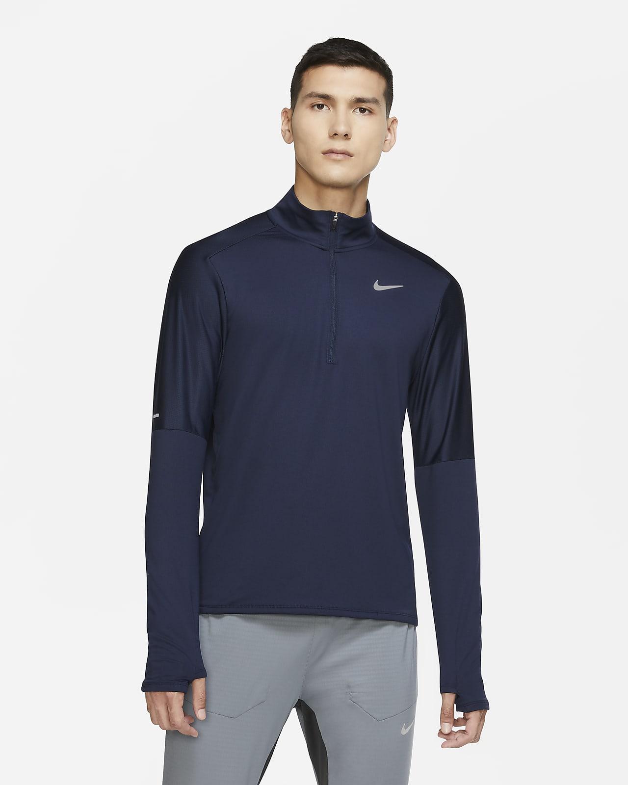 Nike Dri-FIT Camiseta de running con media cremallera - Hombre