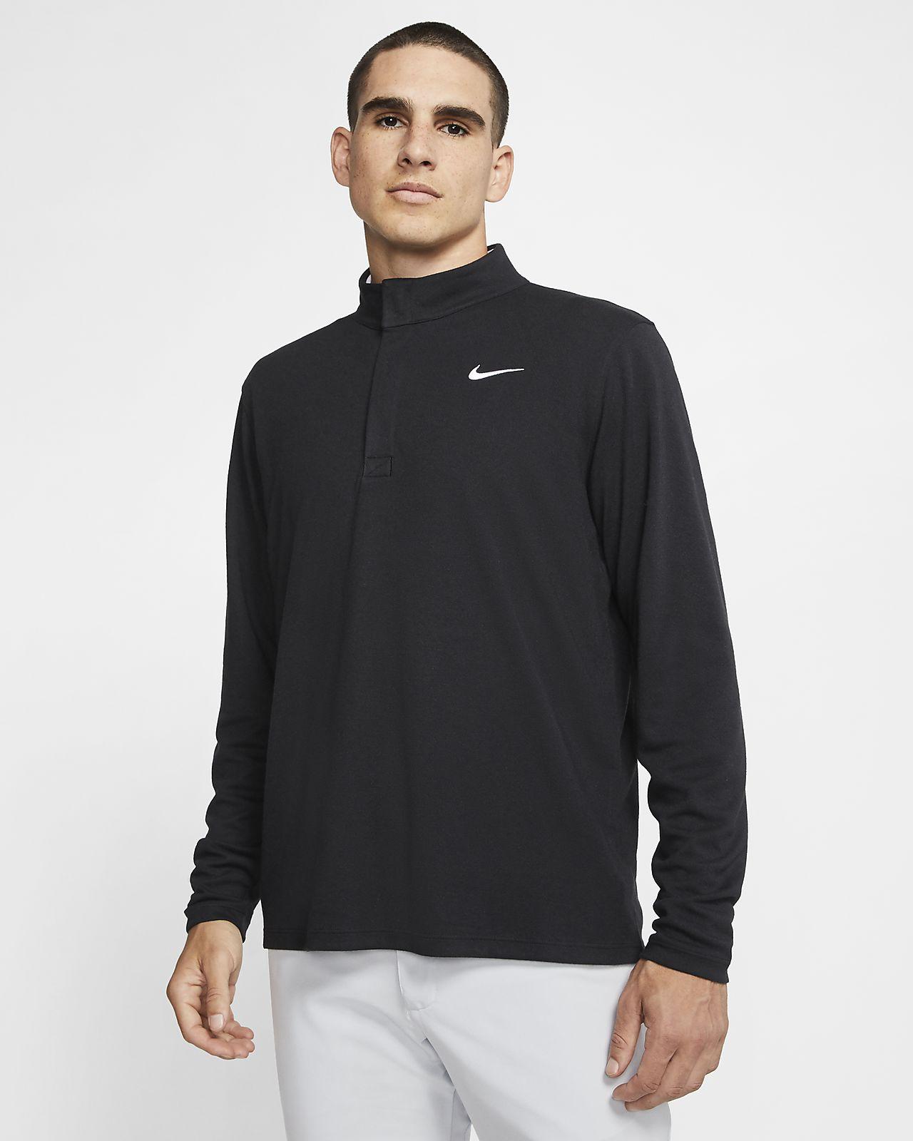 Prenda para la parte superior de golf de medio cierre para hombre Nike Dri-FIT Victory
