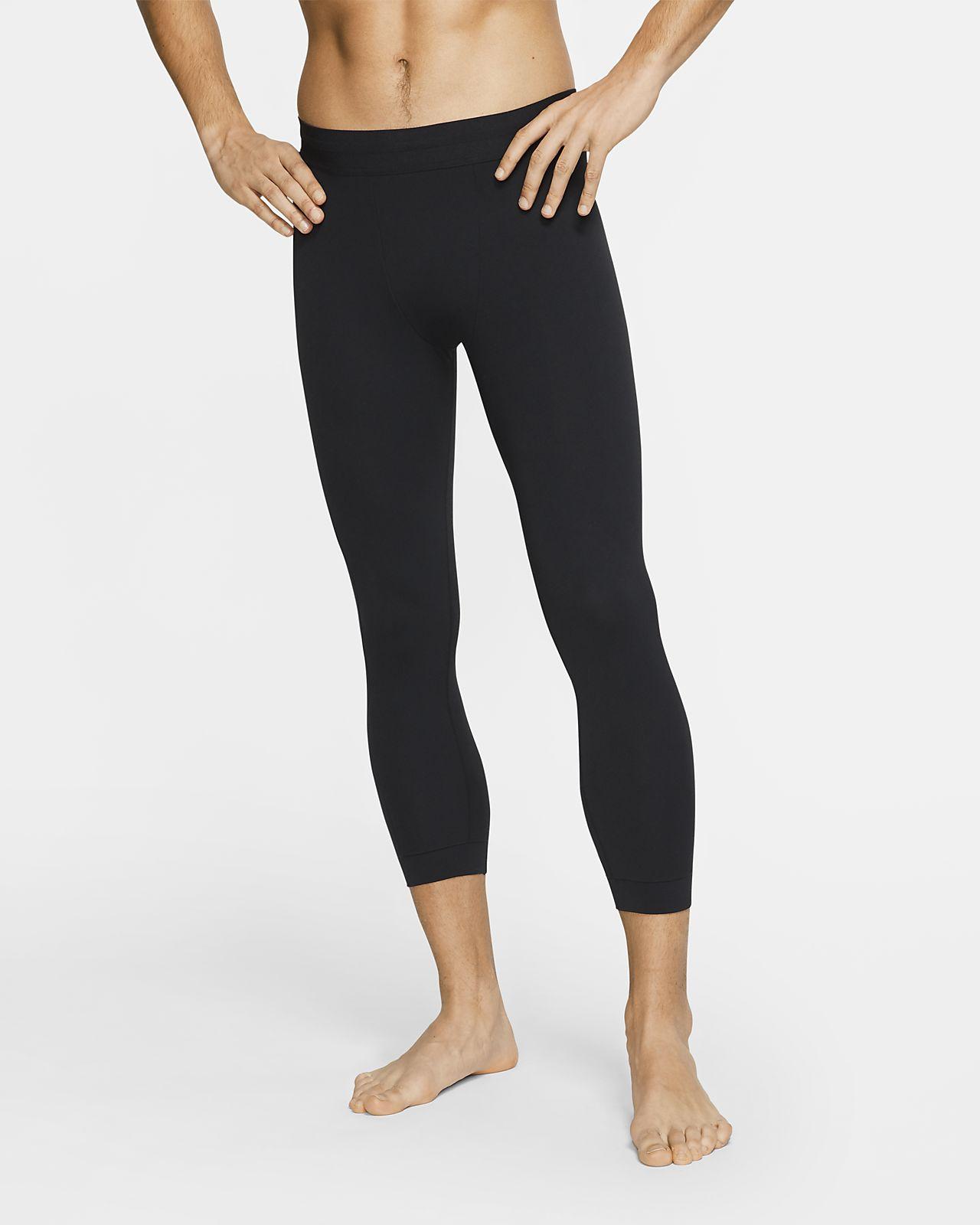 Męskie legginsy Infinalon 3/4 Nike Yoga