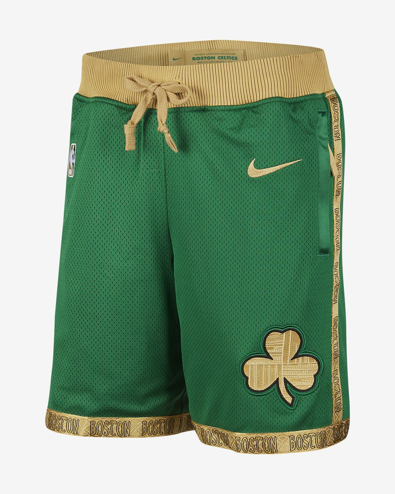 波士顿凯尔特人队 Courtside City Edition Nike NBA 男子短裤