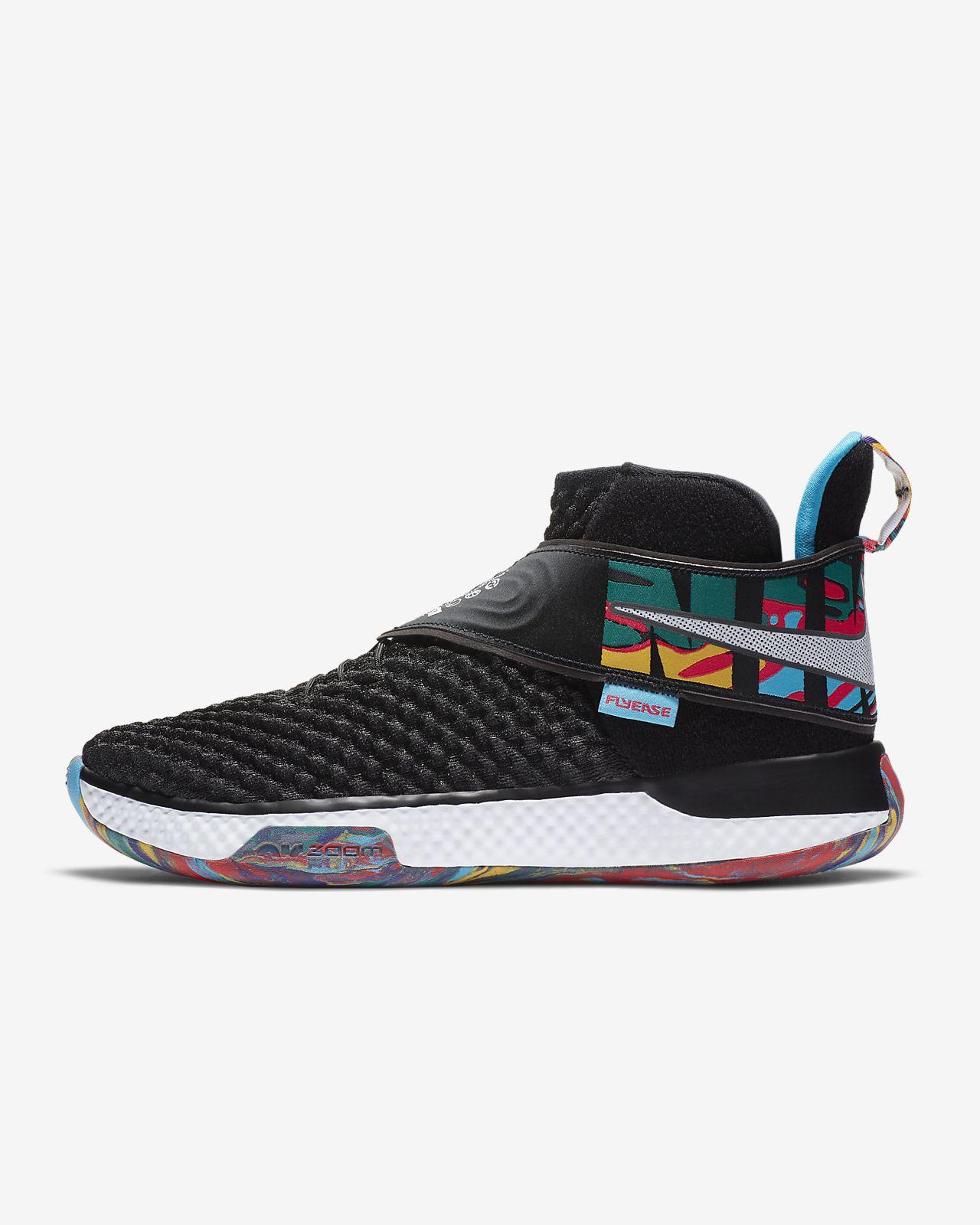 รองเท้าบาสเก็ตบอล Nike Air Zoom UNVRS FlyEase
