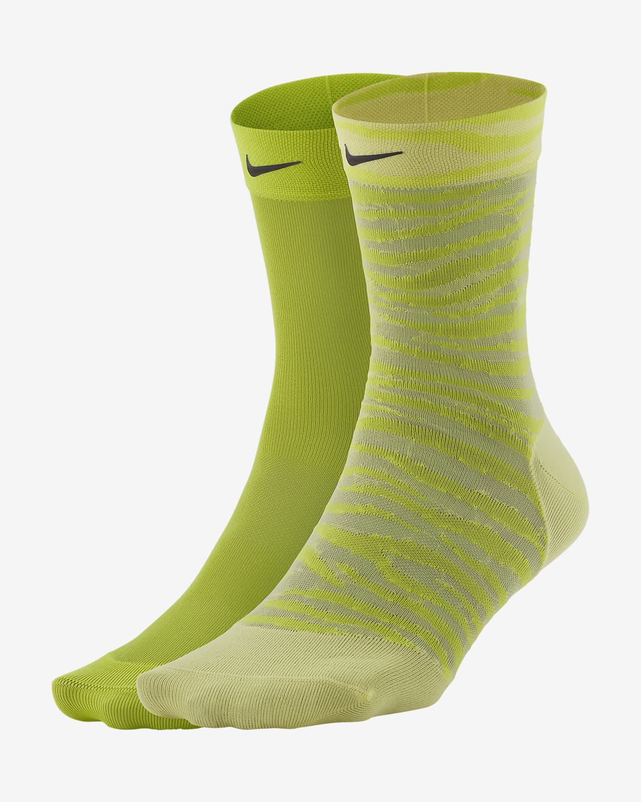 Nike Sheer Trainings-Knöchelsocken für Damen (2 Paar)