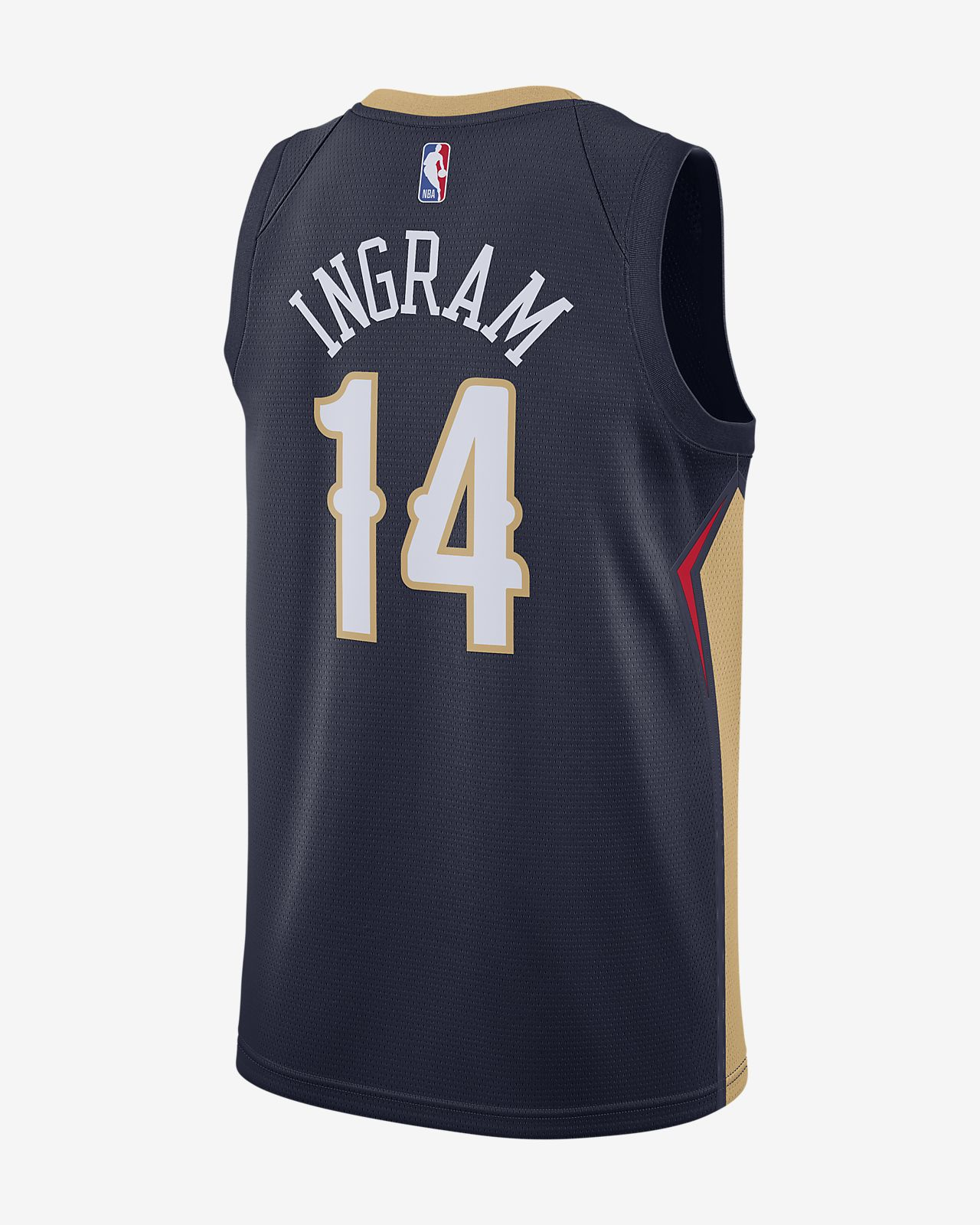 Brandon Ingram Pelicans Icon Edition Nike NBA Swingman Jersey