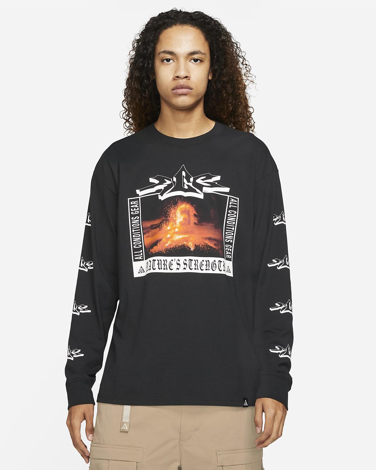 """T-shirt a manica lunga Nike ACG """"Volcano"""" - Uomo"""