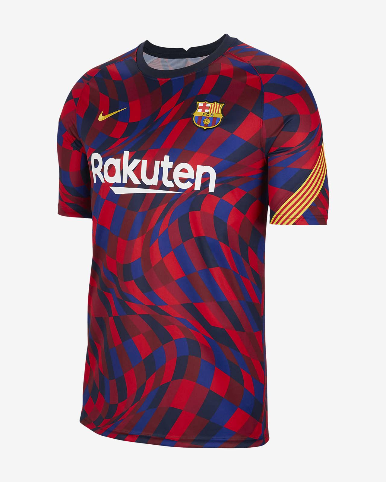 F.C. Barcelona Men's Short-Sleeve Football Top