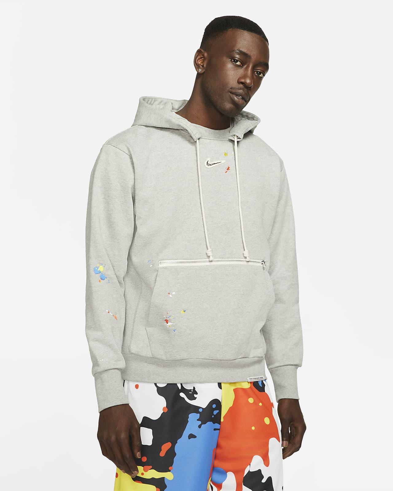 Sudadera con capucha de básquetbol sin cierre para hombre Nike Standard Issue
