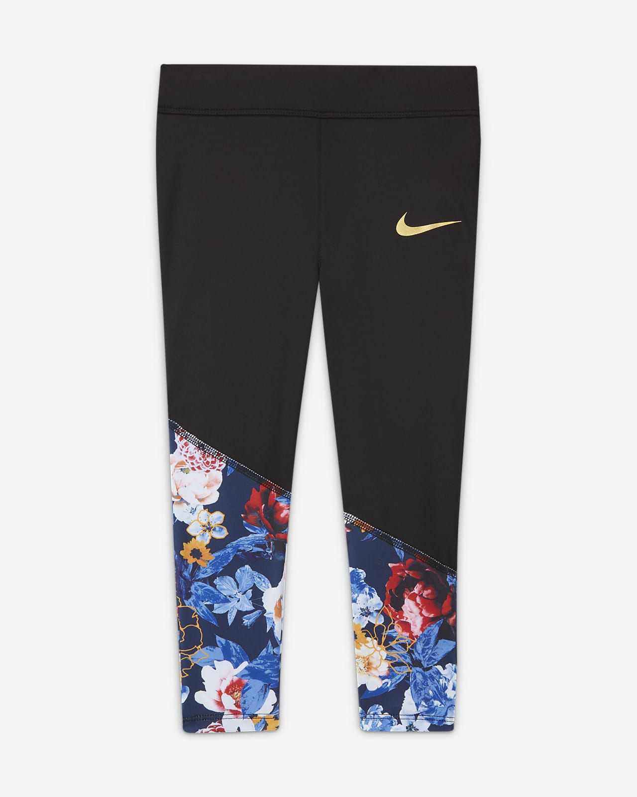 Nike Dri-FIT-caprileggings til småbørn