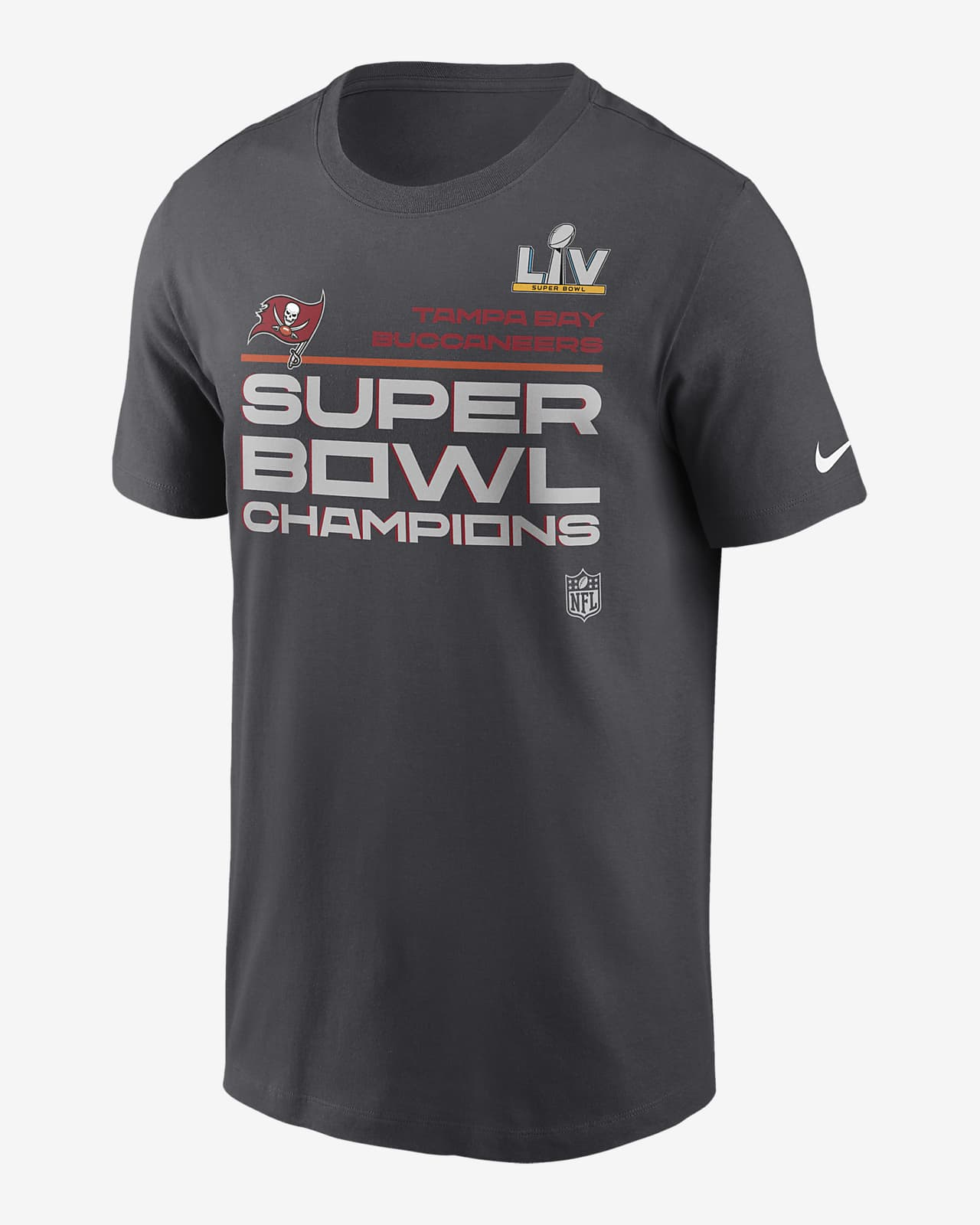 Nike Super Bowl LV Champions Trophy Collection (NFL Tampa Bay Buccaneers) Men's T-Shirt