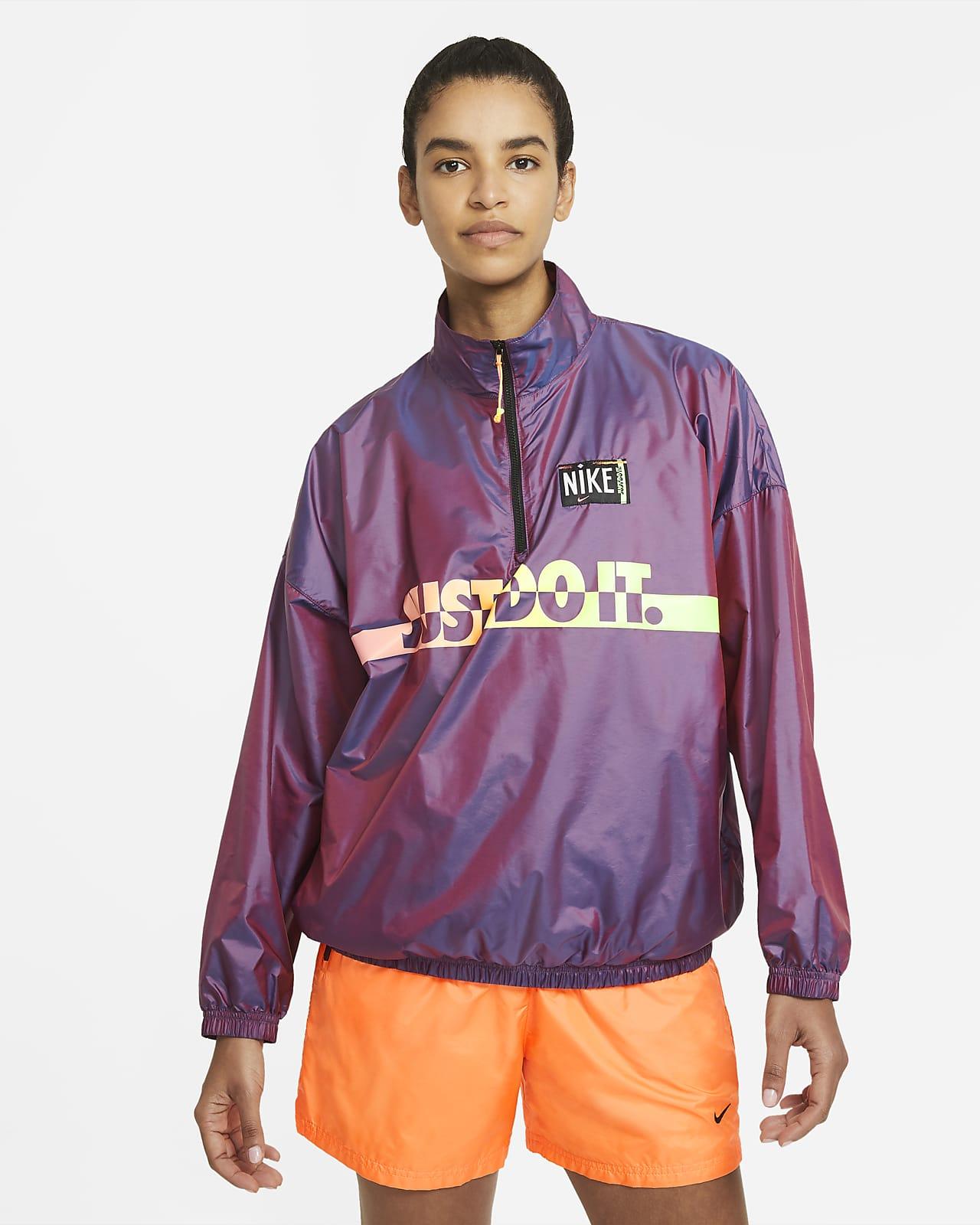 Женская куртка из тканого материала с принтом Nike Sportswear