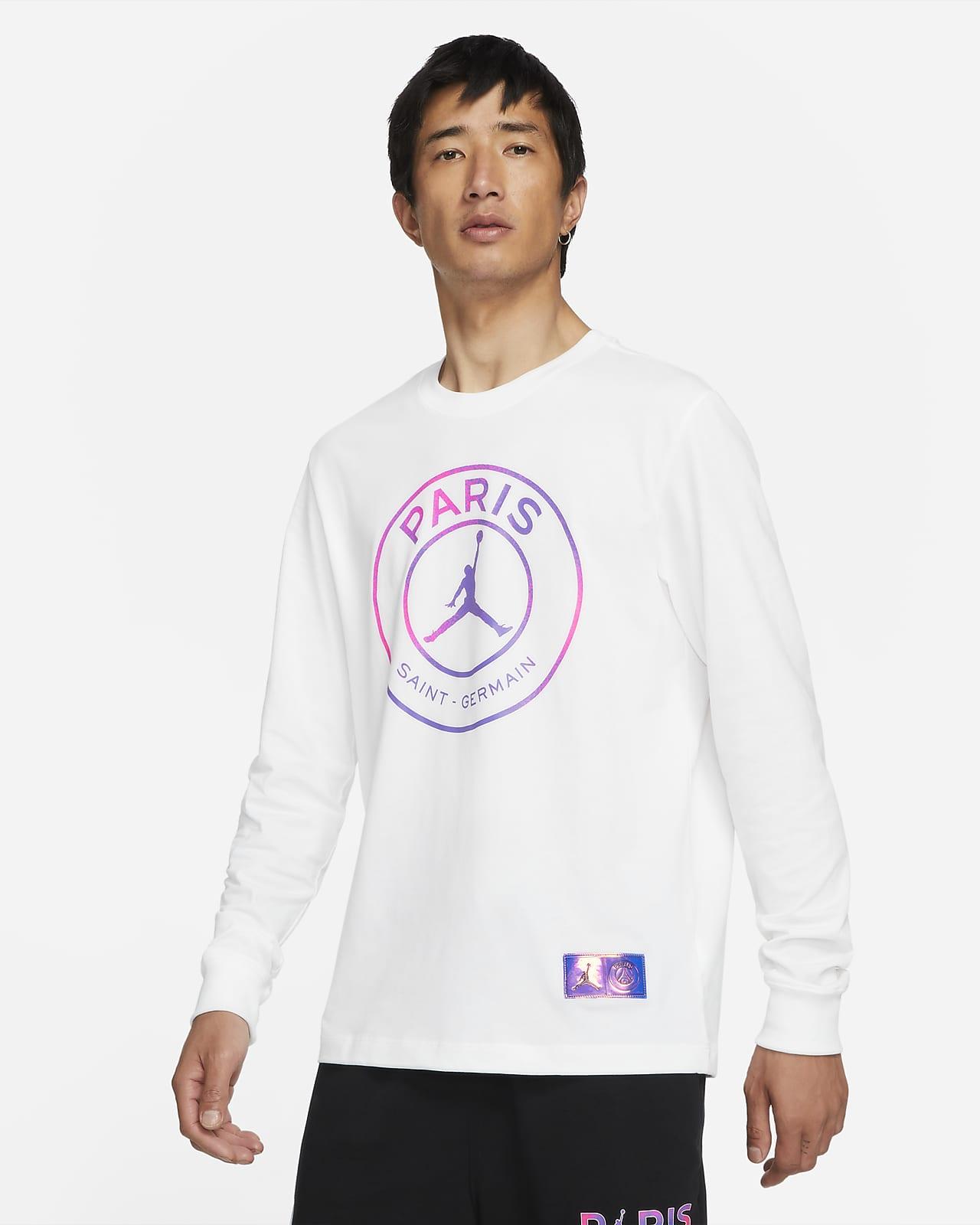 巴黎圣日耳曼男子长袖T恤