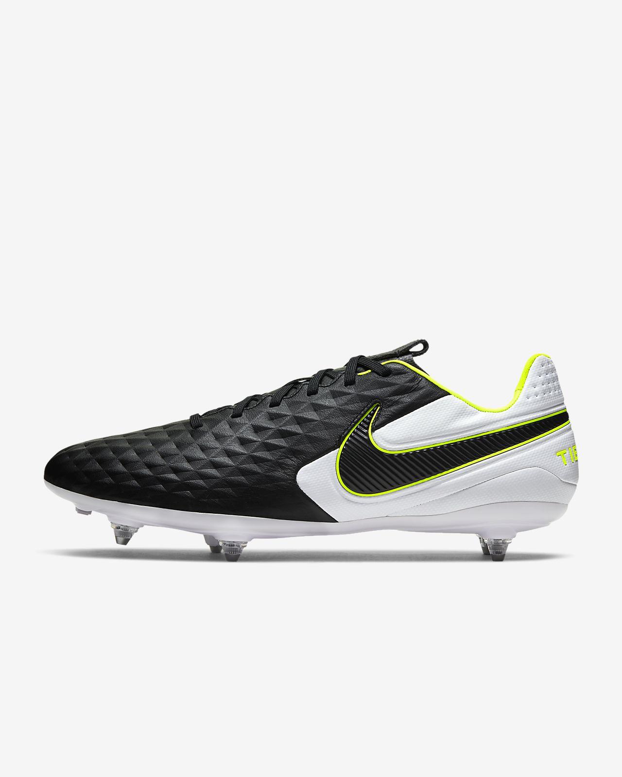 Chaussure de football à crampons pour terrain gras Nike Tiempo Legend 8 Pro SG