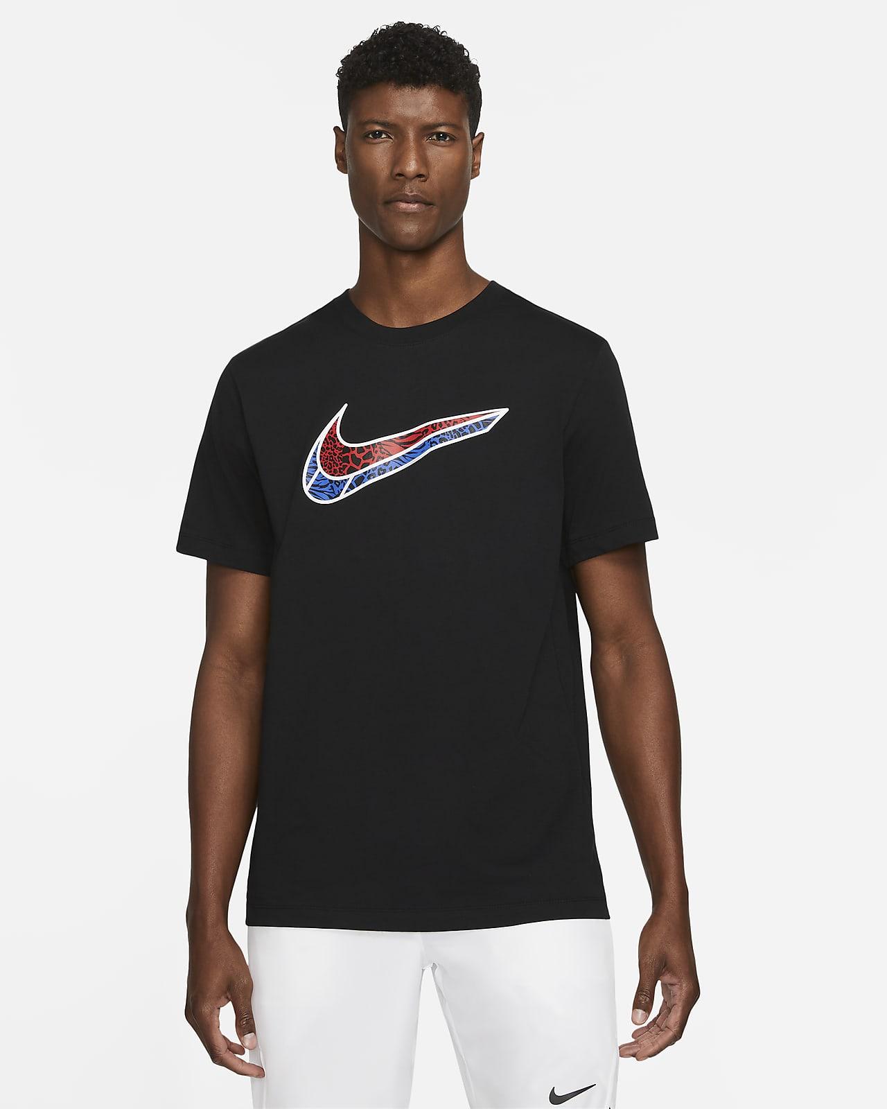 Playera de manga corta para hombre Nike Swoosh