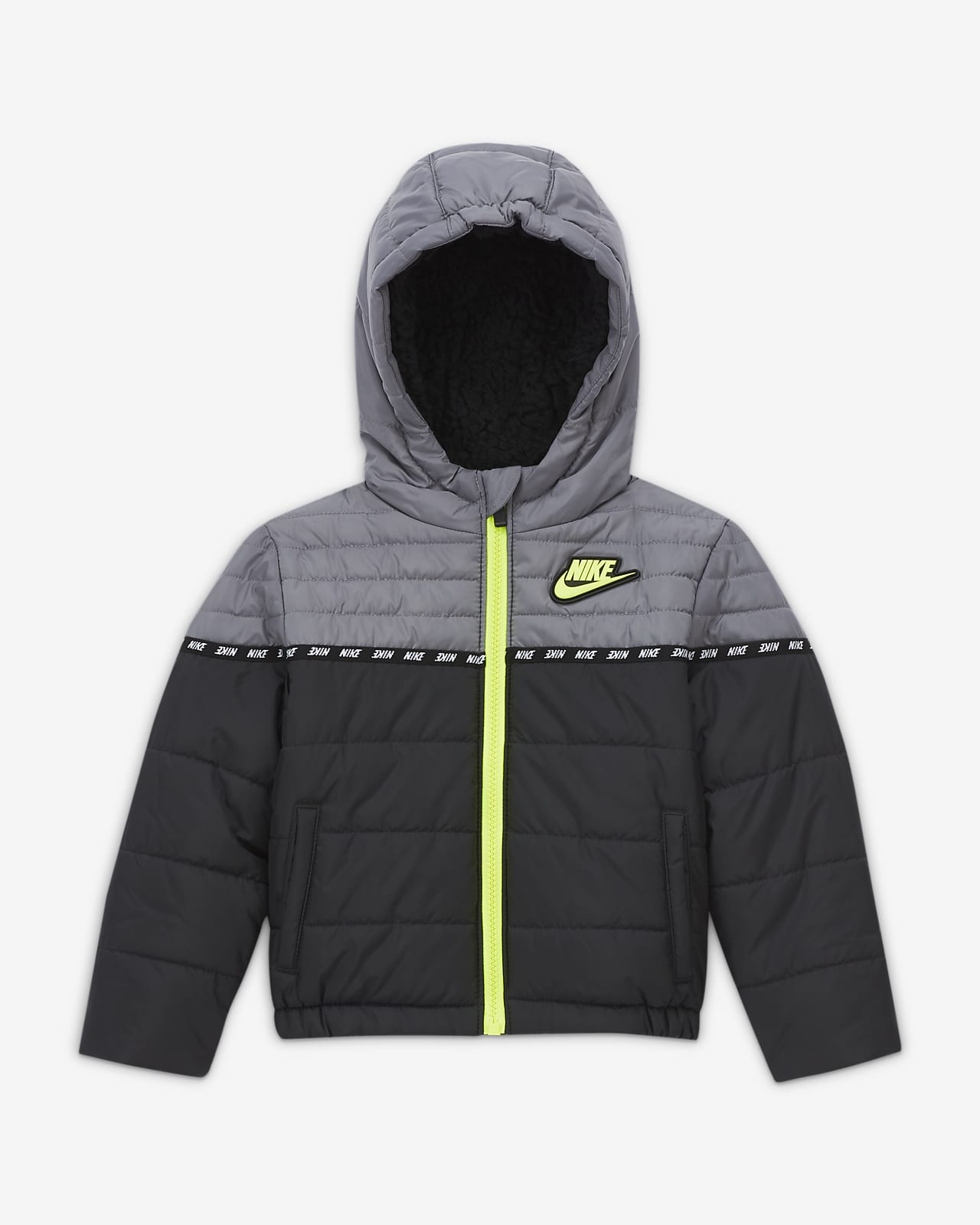 Nike-dynejakke til babyer (12-24 M)
