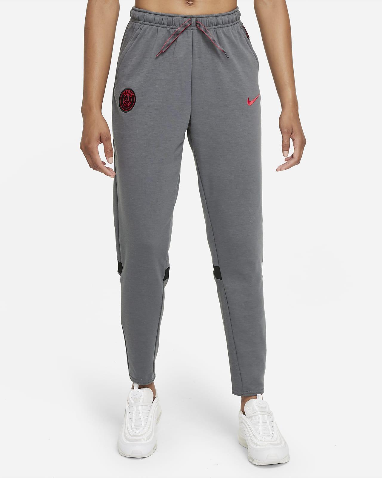 Pantalon de football de voyage en tissu Fleece Paris Saint-Germain pour Femme