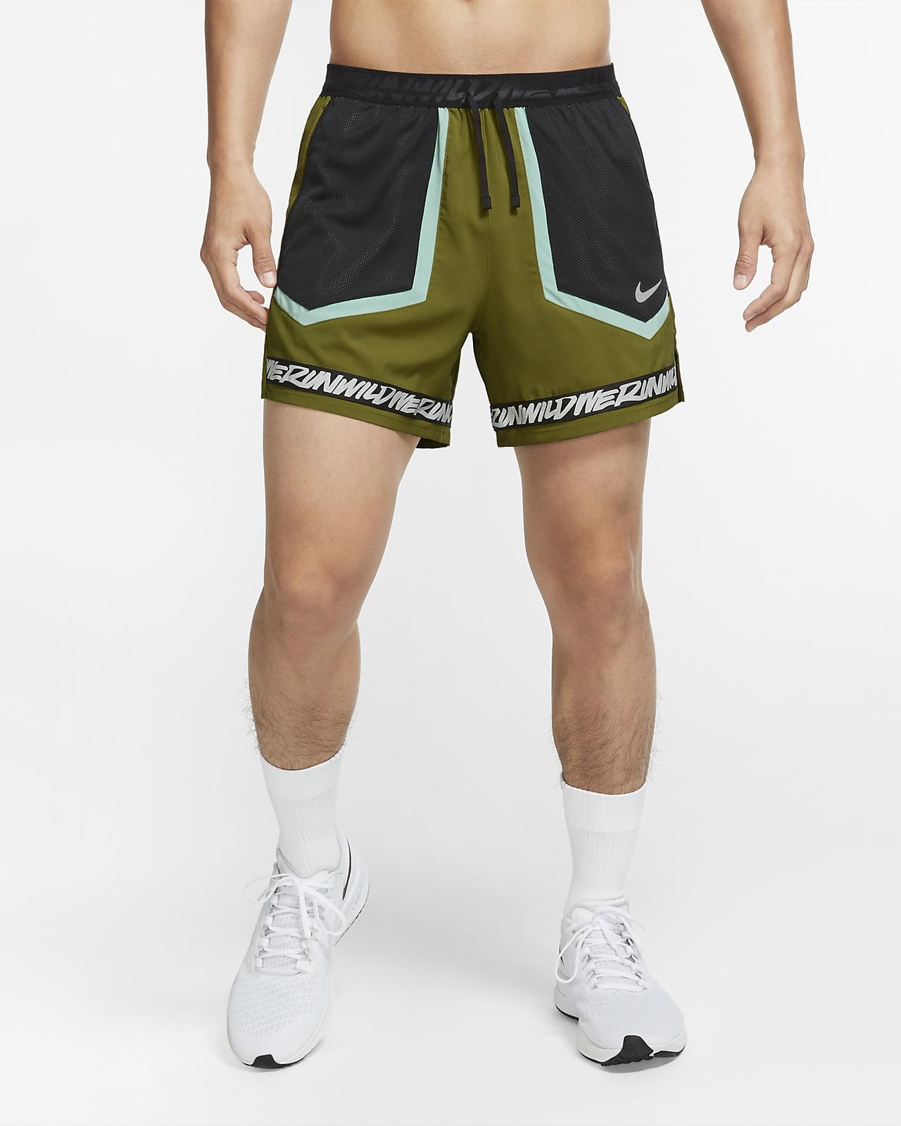 Shorts de running cortos para hombre Nike Flex Stride Wild Run