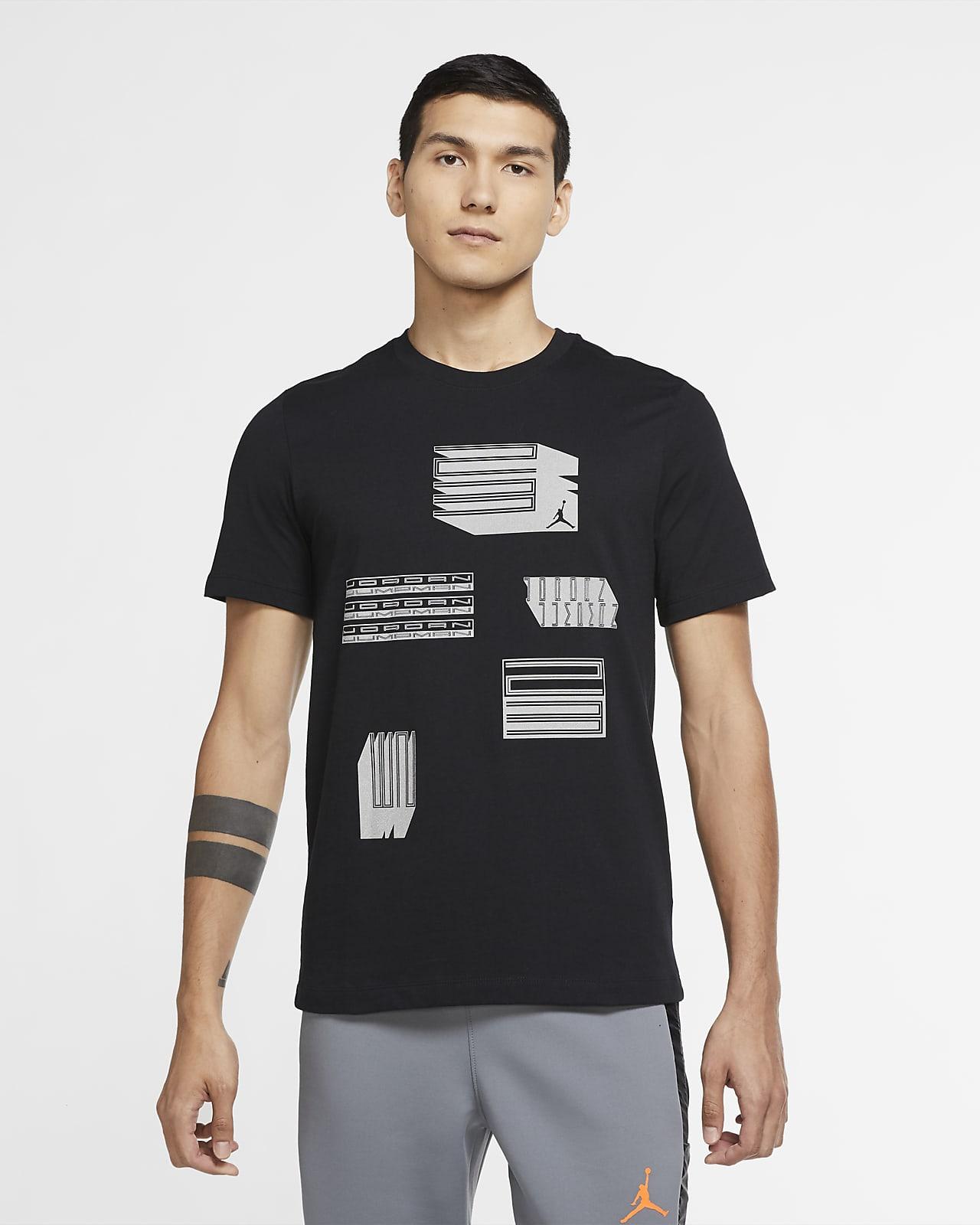 เสื้อยืดผู้ชายมีกราฟิก Jordan AJ11