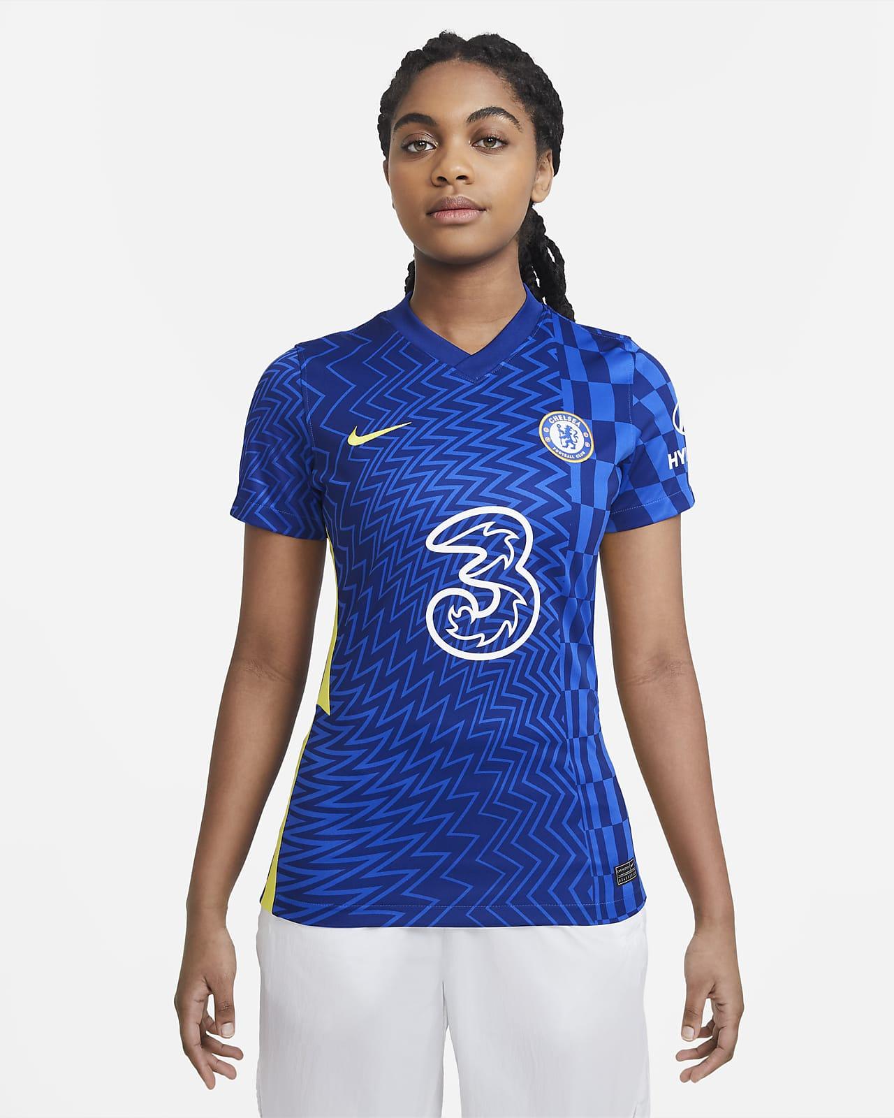 Chelsea F.C. 2021/22 Stadium Home Women's Football Shirt