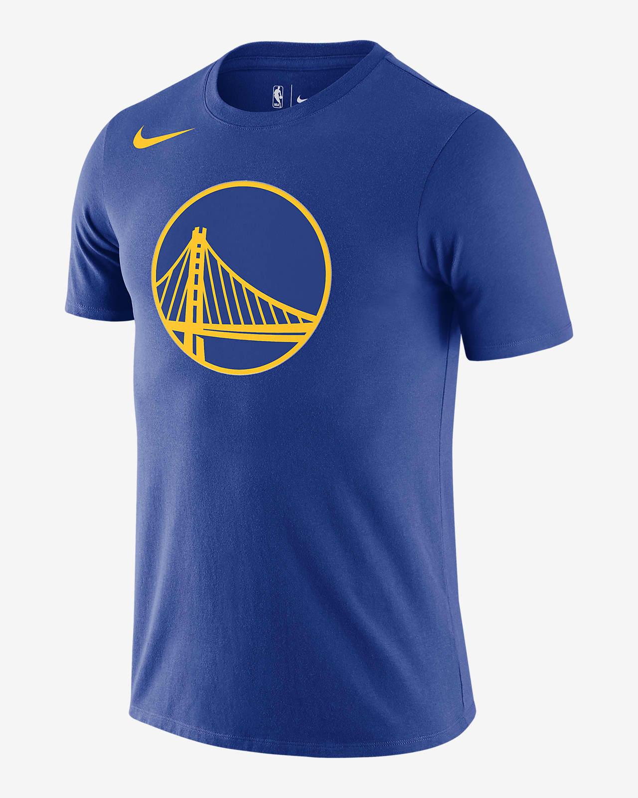 Golden State Warriors Nike NBA-herenshirt met logo en Dri-FIT