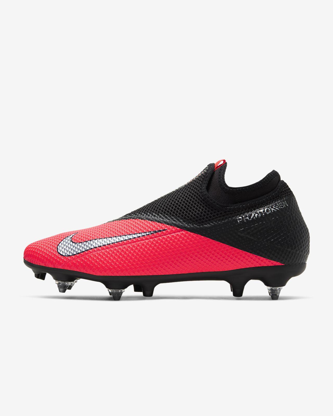 Korki piłkarskie na miękką murawę Nike Phantom Vision 2 Academy Dynamic Fit SG-PRO Anti-Clog Traction