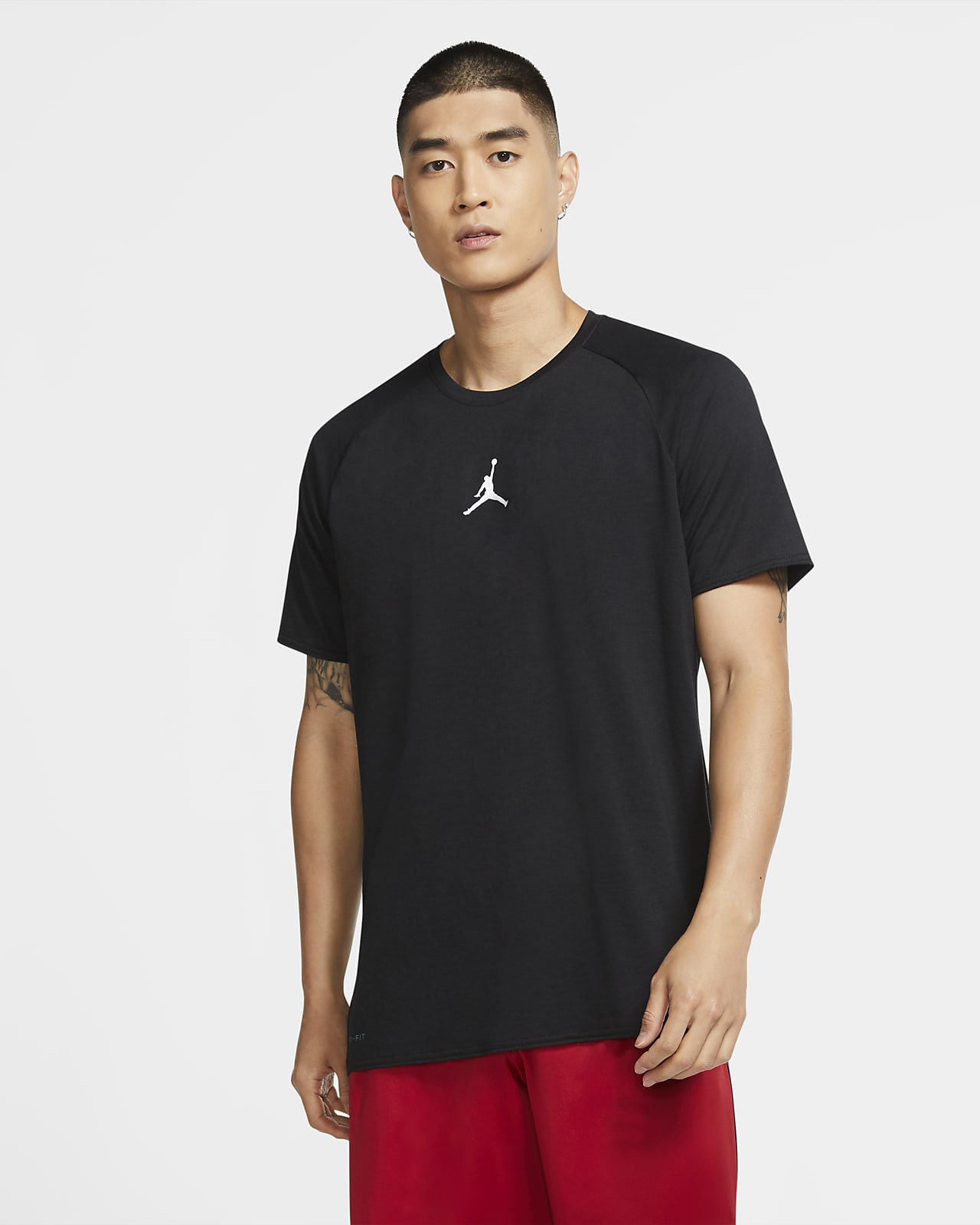 Jordan Air Men's Short-Sleeve Training Top
