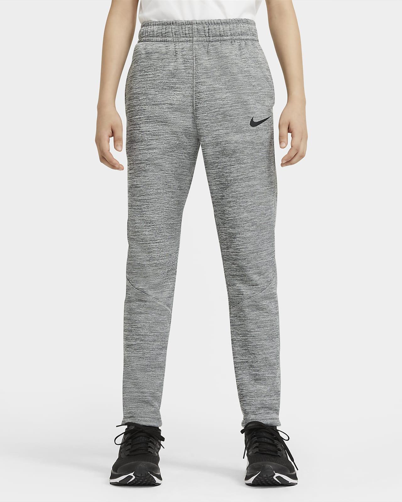 Pantalones de entrenamiento para niños talla grande Nike Therma