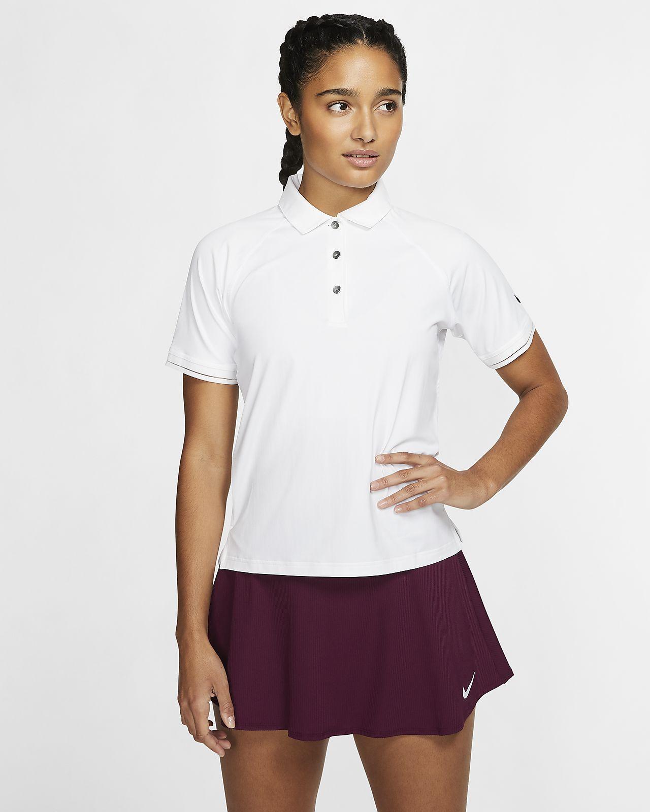 NikeCourt 女子网球翻领T恤