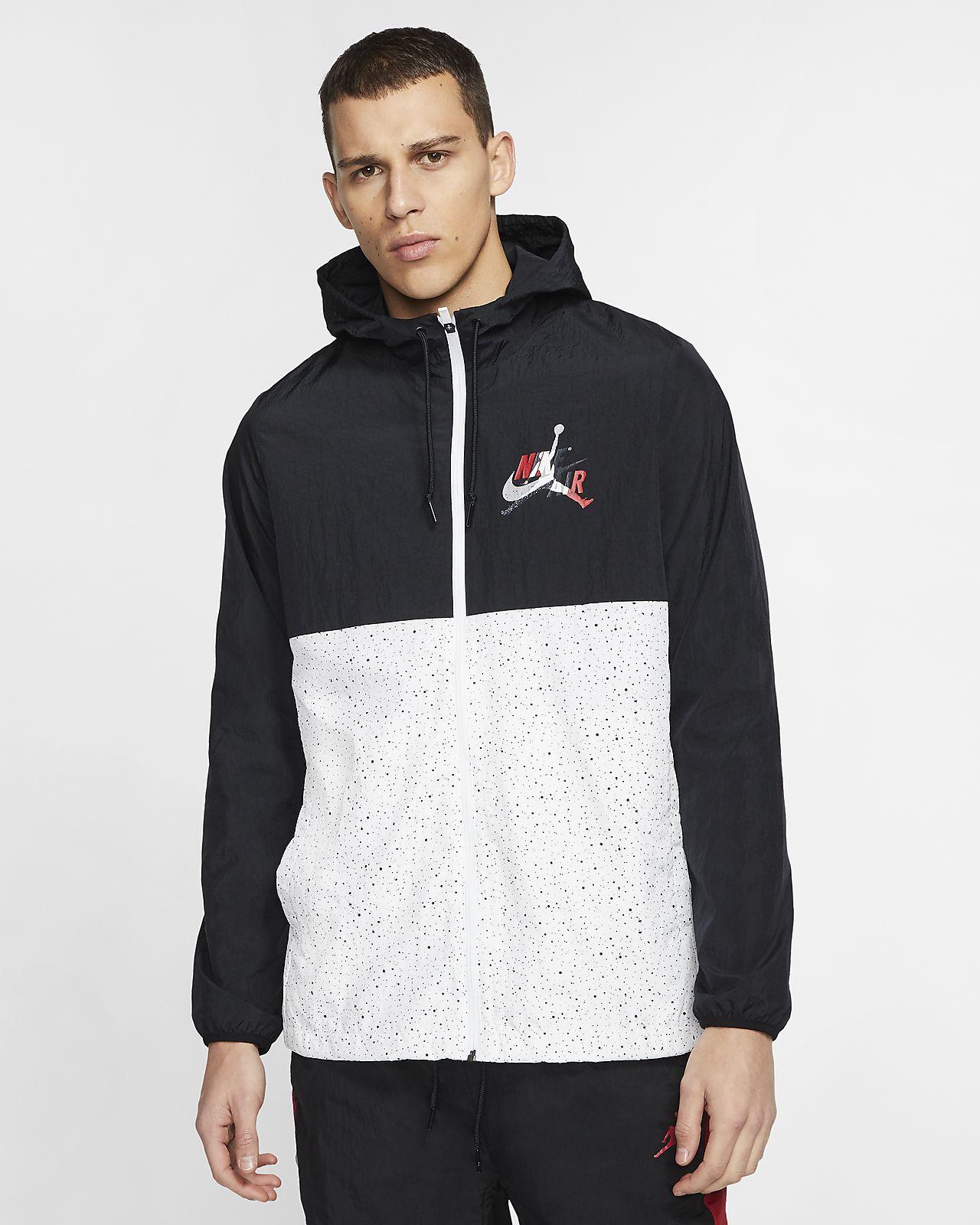 เสื้อแจ็คเก็ตกันลมผู้ชาย Jordan Jumpman Classics