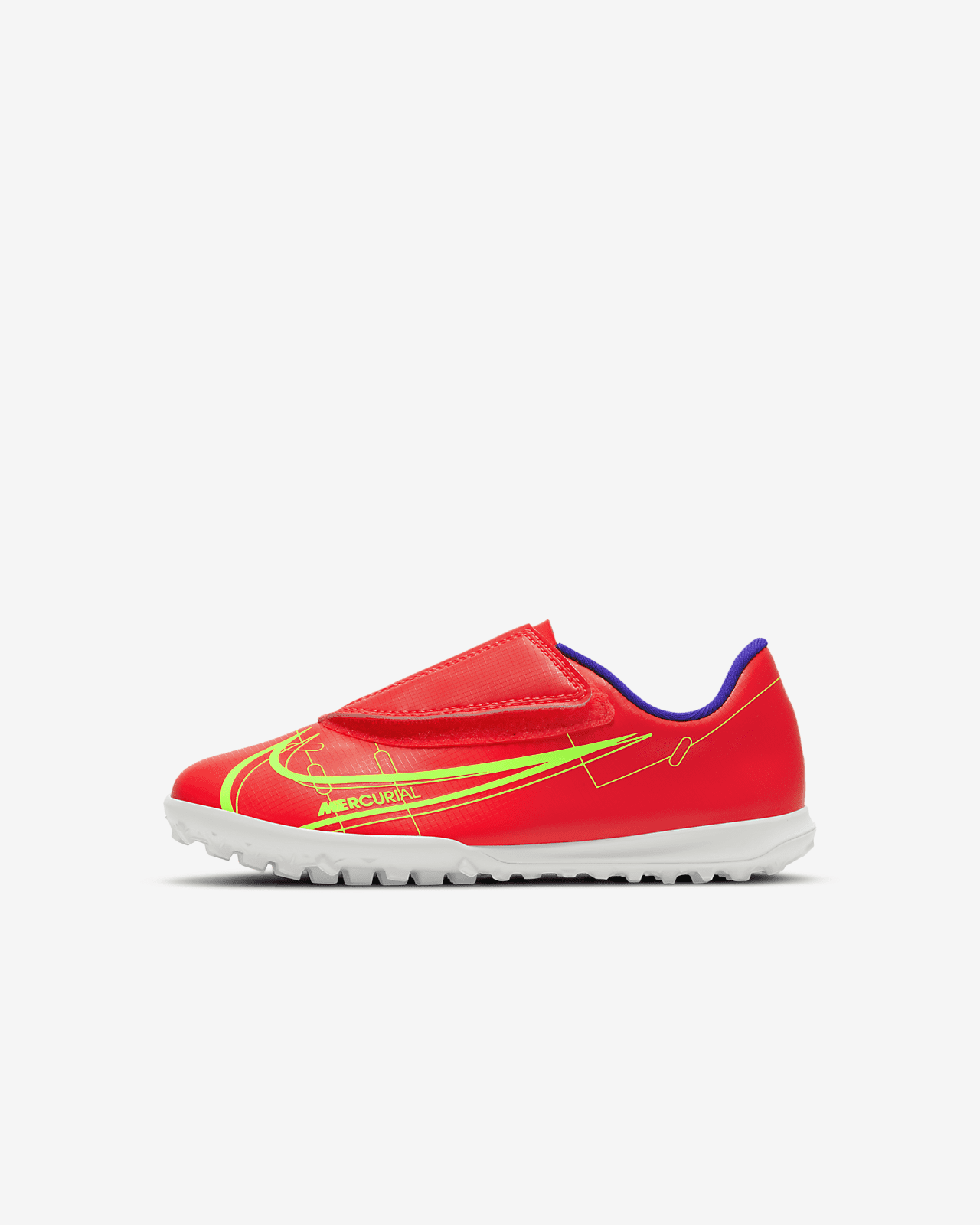 Nike Jr. Mercurial Vapor 14 Club TF Little Kids' Turf Soccer Shoe