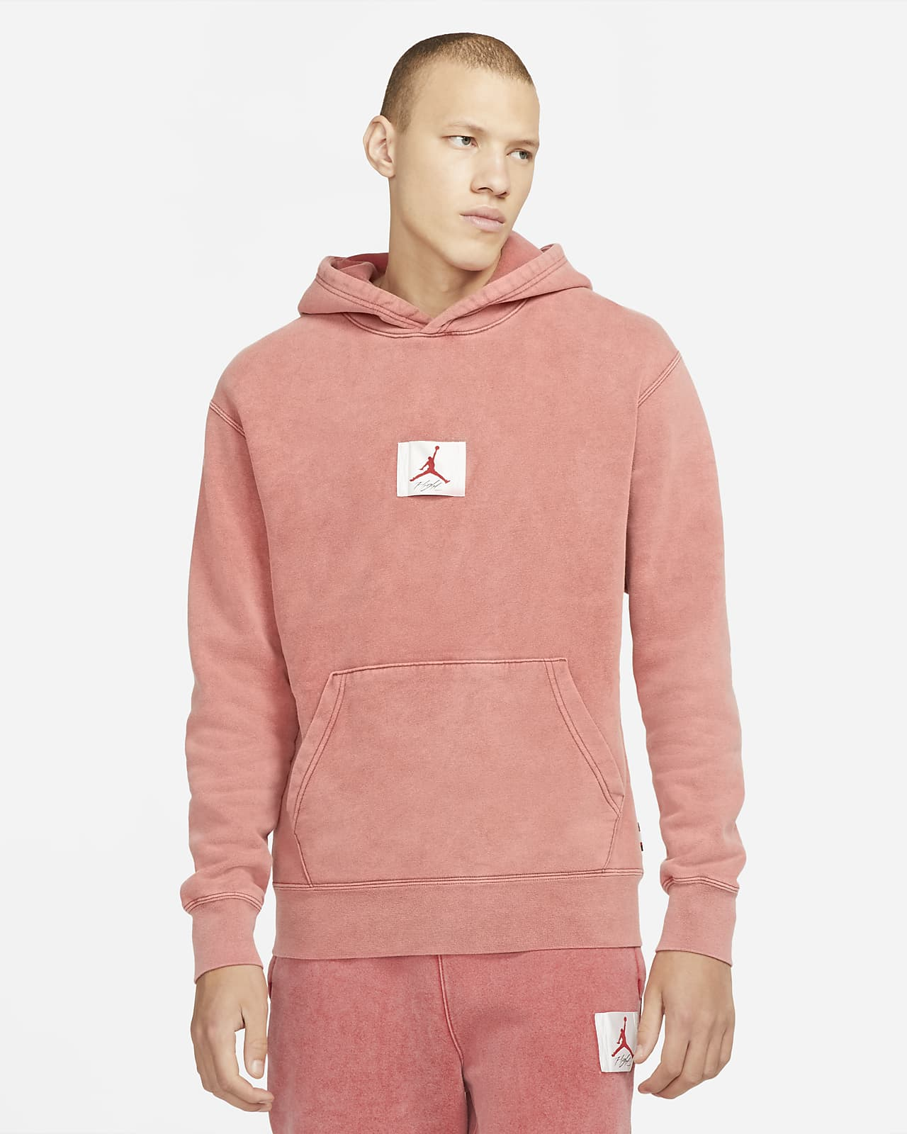 Jordan Flight Fleece Hoodie mit Grafik für Herren