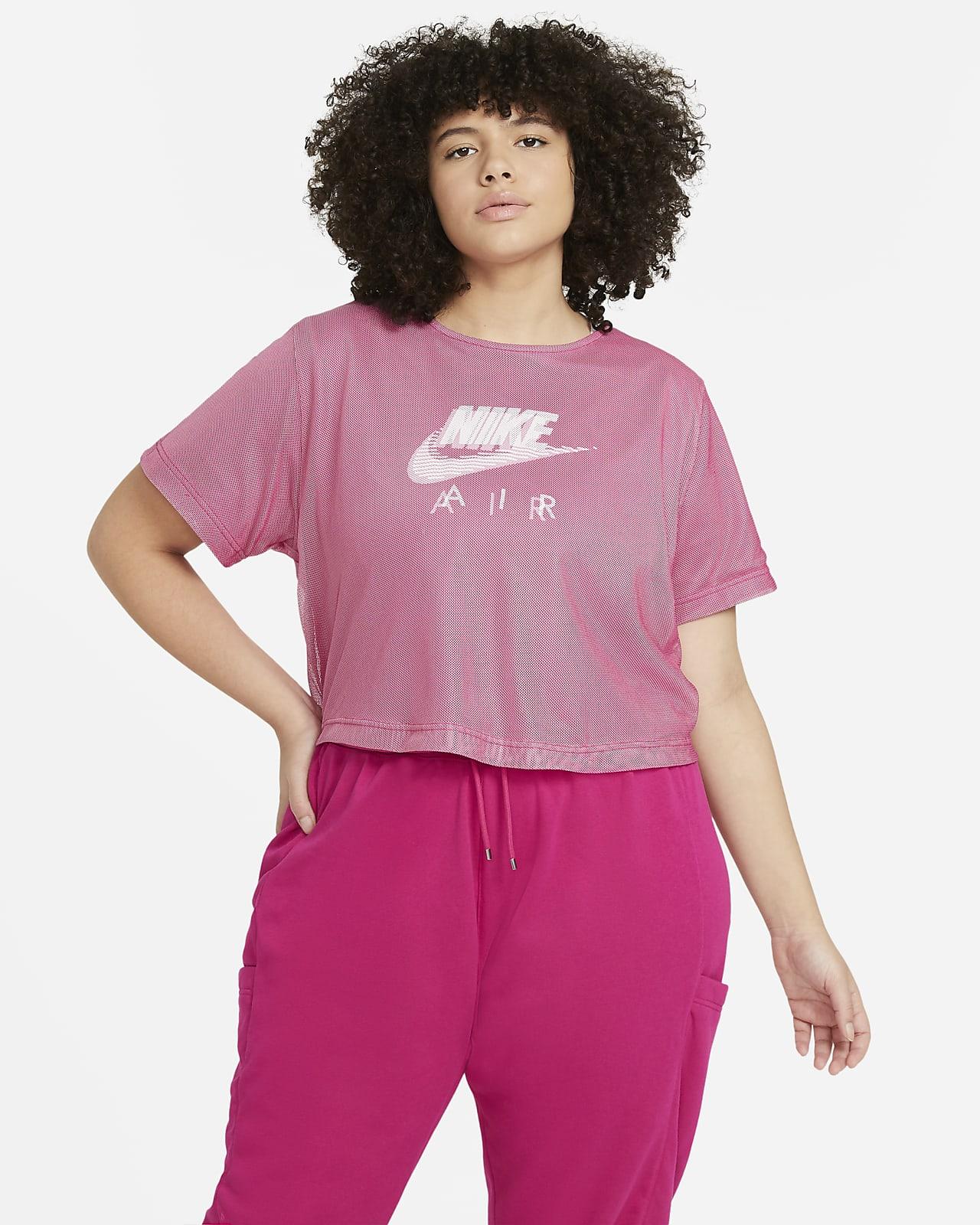 Nike Air Women's Mesh Short-Sleeve Top (Plus Size)